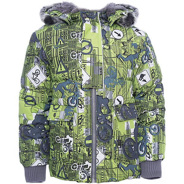 Куртка OLIVER Huppa для мальчикаВерхняя одежда<br>Характеристики товара:<br><br>• модель: Oliver;<br>• цвет: зеленый;<br>• пол: мальчик;<br>• состав: 100% полиэстер;<br>• утеплитель: полиэстер,300 гр.;<br>• подкладка: Teddy Fur, тафта,полиэстер;<br>• сезон: зима;<br>• температурный режим: от -5 до - 30С;<br>• водонепроницаемость: 10000 мм;<br>• воздухопроницаемость: 10000 г/м2/24ч;<br>• особенности модели: с рисунком,с мехом на капюшоне;<br>• защита подбородка от защемления;<br>• мягкая меховая подкладка;<br>• капюшон крепится на кнопки и, при необходимости, отстегивается;<br>• искусственный мех на капюшоне съемный;<br>• спереди расположены два накладныхкармана, с клапанами на кнопках;<br>• светоотражающие элементы для безопасности ребенка;<br>•  трикотажные манжеты; <br>• страна бренда: Финляндия;<br>• страна изготовитель: Эстония.<br><br>Куртка Oliver  для мальчика изготовлена из водо и ветронепроницаемого, грязеотталкивающего материала. В куртке Oliver  300 грамм утеплителя, которые обеспечат тепло и комфорт ребенку при температуре от -5 до -30 градусов.Подкладка —Teddy Fur,тафта.<br><br>Куртка с капюшоном застегивается на застежку-молнию и кнопки. Капюшон отстегивается с помощью кнопок, мех отстегивается. Рукава с трикотажными манжетами. У модели имеются два накладных кармана с клапанами на кнопках. Изделие дополнено светоотражающими элементами.<br><br>Куртку Oliver для мальчика бренда HUPPA  можно купить в нашем интернет-магазине.<br>Ширина мм: 356; Глубина мм: 10; Высота мм: 245; Вес г: 519; Цвет: зеленый; Возраст от месяцев: 18; Возраст до месяцев: 24; Пол: Мужской; Возраст: Детский; Размер: 116,110,104,98,92,86,80,74,122; SKU: 7024892;