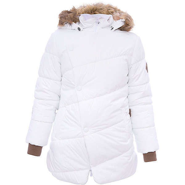 Куртка ROSA Huppa для девочкиЗимние куртки<br>Характеристики товара:<br><br>• модель: Rosa;<br>• состав: 100% полиэстер;<br>• утеплитель: полиэстер,300 гр.;<br>• подкладка: Teddy Fur, тафта,полиэстер;<br>• сезон: зима;<br>• температурный режим: от -5 до - 30С;<br>• водонепроницаемость: 5000 мм;<br>• воздухопроницаемость: 5000 г/м2/24ч;<br>• особенности модели: с рисунком,с мехом на капюшоне;<br>• защитная планка молнии на кнопках;<br>• защита подбородка от защемления;<br>• мягкая меховая подкладка;<br>• капюшон отстегивается;<br>• искусственный мех на капюшоне съемный;<br>• два врезных кармана на молнии;<br>• светоотражающие элементы для безопасности ребенка;<br>• трикотажные манжеты; <br>• страна бренда: Финляндия;<br>• страна изготовитель: Эстония.<br><br>Зимняя куртка Rosa  для девочки изготовлена из водо и ветронепроницаемого, грязеотталкивающего материала. В куртке Rosa  300 грамм утеплителя, которые обеспечат тепло и комфорт ребенку при температуре от -5 до -30 градусов.Подкладка —Teddy Fur,тафта.<br><br>Функциональные элементы: капюшон отстегивается с помощью кнопок, мех отстегивается, защитная планка молнии на кнопках, защита подбородка от защемления, мягкая меховая подкладка, карманы на молнии, трикотажные манжеты, светоотражающие элементы. <br><br>Куртку Rosa для девочки бренда HUPPA  можно купить в нашем интернет-магазине.<br><br>Ширина мм: 356<br>Глубина мм: 10<br>Высота мм: 245<br>Вес г: 519<br>Цвет: белый<br>Возраст от месяцев: 24<br>Возраст до месяцев: 36<br>Пол: Женский<br>Возраст: Детский<br>Размер: 98,158,152,146,140,134,128,122,116,110,104<br>SKU: 7024922