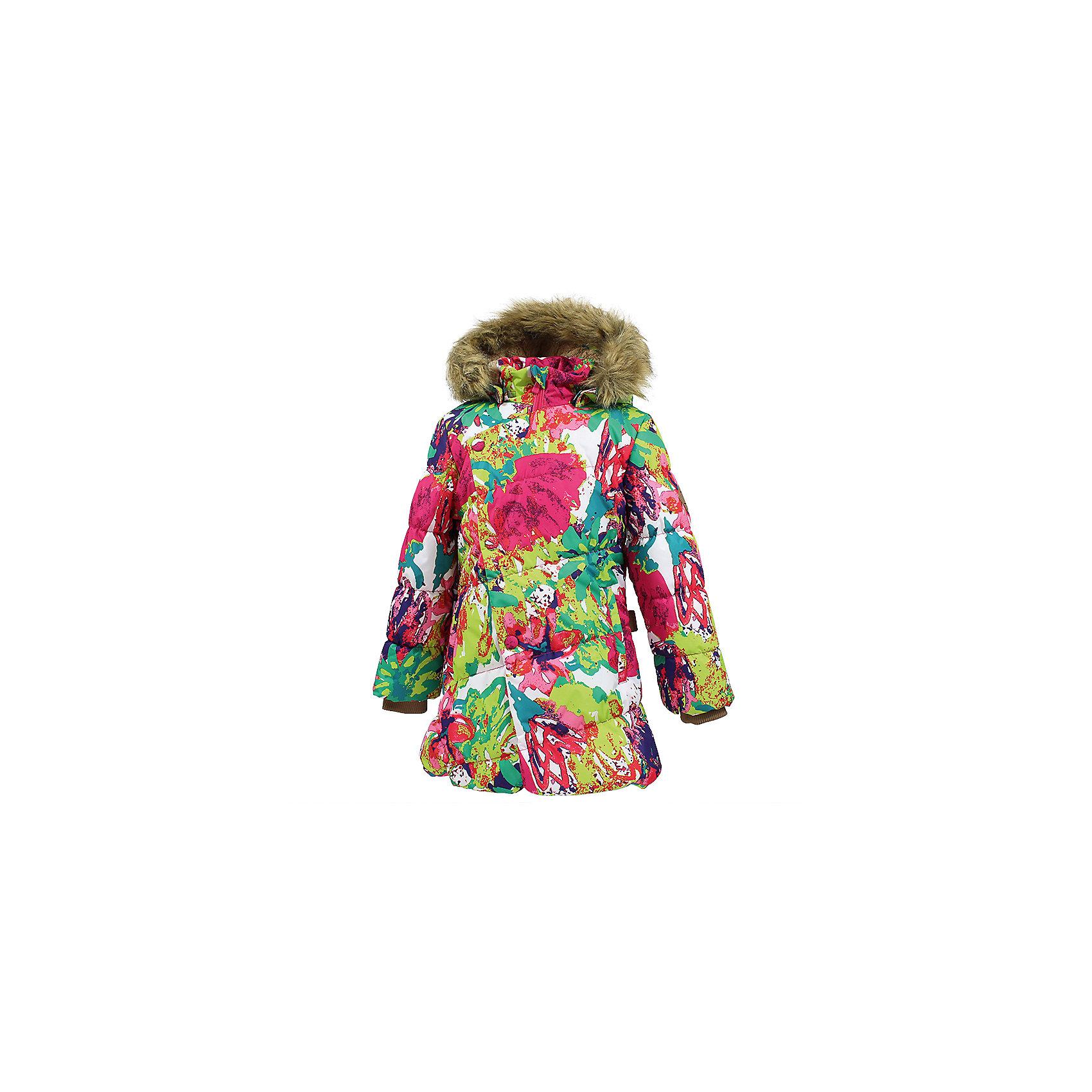 Куртка ROSA Huppa для девочкиЗимние куртки<br>Характеристики товара:<br><br>• модель: Rosa;<br>• состав: 100% полиэстер;<br>• утеплитель: полиэстер,300 гр.;<br>• подкладка: Teddy Fur, тафта,полиэстер;<br>• сезон: зима;<br>• температурный режим: от -5 до - 30С;<br>• водонепроницаемость: 10000 мм;<br>• воздухопроницаемость: 10000 г/м2/24ч;<br>• особенности модели: с рисунком,с мехом на капюшоне;<br>• защитная планка молнии на кнопках;<br>• защита подбородка от защемления;<br>• мягкая меховая подкладка;<br>• капюшон отстегивается;<br>• искусственный мех на капюшоне съемный;<br>• два врезных кармана на молнии;<br>• светоотражающие элементы для безопасности ребенка;<br>• трикотажные манжеты; <br>• страна бренда: Финляндия;<br>• страна изготовитель: Эстония.<br><br>Зимняя куртка Rosa  для девочки изготовлена из водо и ветронепроницаемого, грязеотталкивающего материала. В куртке Rosa  300 грамм утеплителя, которые обеспечат тепло и комфорт ребенку при температуре от -5 до -30 градусов.Подкладка —Teddy Fur,тафта.<br><br>Функциональные элементы: капюшон отстегивается с помощью кнопок, мех отстегивается, защитная планка молнии на кнопках, защита подбородка от защемления, мягкая меховая подкладка, карманы на молнии, трикотажные манжеты, светоотражающие элементы. <br><br>Куртку Rosa для девочки бренда HUPPA  можно купить в нашем интернет-магазине.<br><br>Ширина мм: 356<br>Глубина мм: 10<br>Высота мм: 245<br>Вес г: 519<br>Цвет: белый<br>Возраст от месяцев: 144<br>Возраст до месяцев: 156<br>Пол: Женский<br>Возраст: Детский<br>Размер: 158,98,104,110,116,122,128,134,140,146,152<br>SKU: 7024934