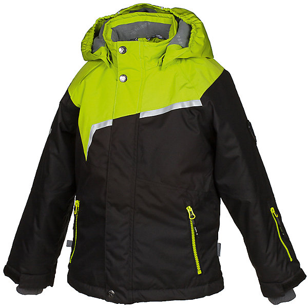 Куртка ISLA Huppa для мальчикаВерхняя одежда<br>Характеристики товара:<br><br>• модель: Isla;<br>• цвет: черный/салатовый;<br>• состав: 100% полиэстер;<br>• утеплитель: полиэстер,200 гр.;<br>• подкладка: полиэстер, тафта, флис, теплоотражающая подкладка Huppa tec;<br>• сезон: зима;<br>• температурный режим: от -5 до - 20С;<br>• водонепроницаемость: 10000 мм;<br>• воздухопроницаемость: 10000 г/м2/24ч;<br>• все швы проклеены и не пропускают влагу;<br>• защитная планка молнии на кнопках;<br>• защита подбородка от защемления;<br>• наличие внутренней снегозащиты куртки;<br>• капюшон крепится на кнопки и, при необходимости, отстегивается;<br>• эластичный шнур с фиксатором;<br>• внутренний и боковые карманы застегиваются на молнию;<br>• светоотражающие элементы для безопасности ребенка;<br>• регулируемые рукава на липучке с дополнительным вязаным манжетом внутри; <br>• страна бренда: Финляндия;<br>• страна изготовитель: Эстония.<br><br>Куртка Isla  для мальчика изготовлена из водо и ветронепроницаемого, грязеотталкивающего материала. В куртке Isla  200 грамм утеплителя, которые обеспечат тепло и комфорт ребенку при температуре от -5 до -20 градусов.Подкладка —полиэстер, тафта, флис, теплоотражающая подкладка Huppa tec.<br><br>Функциональные элементы: капюшон отстегивается с помощью кнопок, защитная планка молнии на кнопках, защита подбородка от защемления, наличие внутренней снегозащиты куртки,эластичный шнур с фиксатором, внутренний и боковые карманы застегиваются на молнию,  регулируемые рукава на липучке с дополнительным вязаным манжетом внутри, все швы проклеены и не пропускают влагу,светоотражающие элементы. <br><br>Куртку Isla для мальчика бренда HUPPA  можно купить в нашем интернет-магазине.<br>Ширина мм: 356; Глубина мм: 10; Высота мм: 245; Вес г: 519; Цвет: черный; Возраст от месяцев: 36; Возраст до месяцев: 48; Пол: Мужской; Возраст: Детский; Размер: 104,158,152,146,140,134,128,122,116,110; SKU: 7024970;