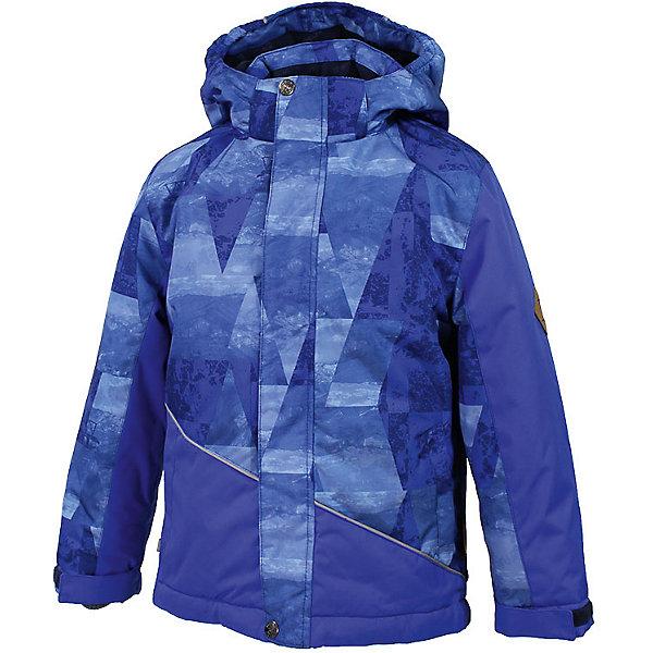 Куртка ALEX Huppa для мальчикаЗимние куртки<br>Характеристики товара:<br><br>• модель: Alex;<br>• цвет: синий принт;<br>• состав: 100% полиэстер;<br>• утеплитель:  нового поколенияHuppaTherm,300 гр.;<br>• подкладка: полиэстер, тафта, флис;<br>• сезон: зима;<br>• температурный режим: от - 5 до - 30С;<br>• водонепроницаемость: 10000 мм;<br>• воздухопроницаемость: 10000 г/м2/24ч;<br>• все швы проклеены и не пропускают влагу;<br>• защитная планка молнии на липучке;<br>• защита подбородка от защемления;<br>• наличие внутренней снегозащиты куртки;<br>• капюшон крепится на кнопки и, при необходимости, отстегивается;<br>• эластичный шнур с фиксатором;<br>• карманы застегиваются на молнию;<br>• светоотражающие элементы для безопасности ребенка;<br>• регулируемые рукава на липучке с дополнительным вязаным манжетом внутри; <br>• страна бренда: Финляндия;<br>• страна изготовитель: Эстония.<br><br>Куртка Alex  для мальчика изготовлена из водо и ветронепроницаемого, грязеотталкивающего материала.<br><br>В куртке Alex 300 грамм утеплителя, которые обеспечат тепло и комфорт ребенку при температуре от -5 до -30 градусов.Подкладка —полиэстер, тафта, флис.<br><br>Функциональные элементы: капюшон отстегивается с помощью кнопок, защитная планка молнии на кнопках, защита подбородка от защемления, наличие внутренней снегозащиты куртки,эластичный шнур с фиксатором, карманы застегиваются на молнию,  регулируемые рукава на липучке с дополнительным вязаным манжетом внутри, все швы проклеены и не пропускают влагу,светоотражающие элементы. <br><br>Куртку Alex для мальчика бренда HUPPA  можно купить в нашем интернет-магазине.<br>Ширина мм: 356; Глубина мм: 10; Высота мм: 245; Вес г: 519; Цвет: синий; Возраст от месяцев: 72; Возраст до месяцев: 84; Пол: Мужской; Возраст: Детский; Размер: 122,116,110,104,164,158,170,152,146,140,134,128; SKU: 7024992;