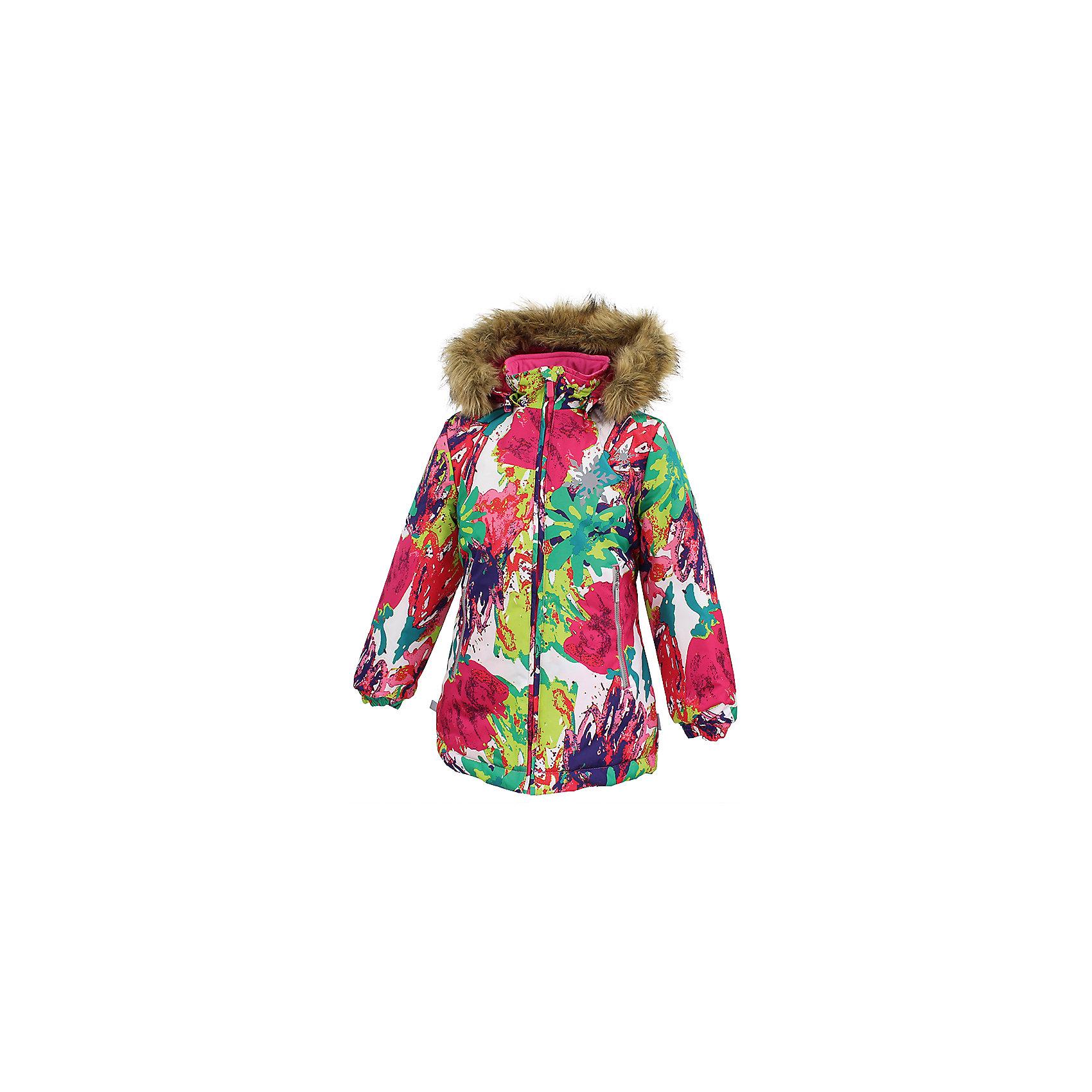 Куртка LOORE Huppa для девочкиВерхняя одежда<br>Характеристики товара:<br><br>• модель: Loore;<br>• состав: 100% полиэстер;<br>• утеплитель:  нового поколенияHuppaTherm,300 гр.;<br>• подкладка: полиэстер, тафта;<br>• сезон: зима;<br>• температурный режим: от - 5 до - 30С;<br>• водонепроницаемость: 10000 мм;<br>• воздухопроницаемость: 10000 г/м2/24ч;<br>• защитная планка молнии;<br>• защита подбородка от защемления;<br>• капюшон крепится на кнопки и, при необходимости, отстегивается;<br>• эластичный шнур с фиксатором;<br>• карманы застегиваются на молнию;<br>• светоотражающие элементы для безопасности ребенка;<br>• манжеты рукавов на резинке; <br>• страна бренда: Финляндия;<br>• страна изготовитель: Эстония.<br><br>Куртка Loore  для девочки изготовлена из водо и ветронепроницаемого, грязеотталкивающего материала. В куртке Loore 300 грамм утеплителя, которые обеспечат тепло и комфорт ребенку при температуре от -5 до -30 градусов.Подкладка —полиэстер, тафта.<br><br>Функциональные элементы: капюшон отстегивается с помощью кнопок, защитная планка молнии, защита подбородка от защемления, эластичный шнур с фиксатором, карманы застегиваются на молнию,   манжеты рукавов на резинке, светоотражающие элементы. <br><br>Куртку  Loore для девочки бренда HUPPA  можно купить в нашем интернет-магазине.<br><br>Ширина мм: 356<br>Глубина мм: 10<br>Высота мм: 245<br>Вес г: 519<br>Цвет: белый<br>Возраст от месяцев: 168<br>Возраст до месяцев: 180<br>Пол: Женский<br>Возраст: Детский<br>Размер: 170,110,116,122,128,134,140,146,152,158,164<br>SKU: 7025018