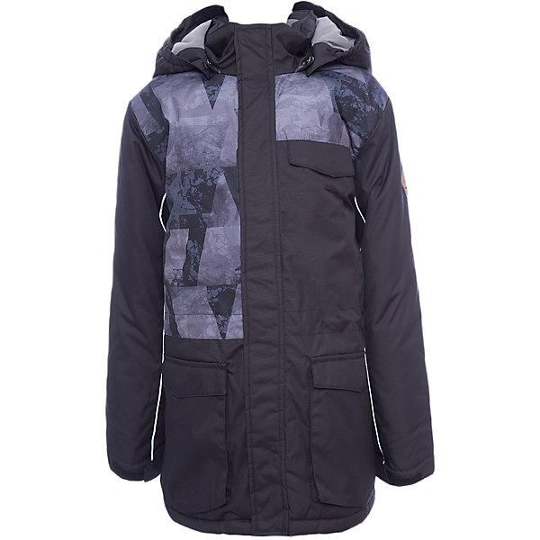 Куртка AMIKA Huppa для мальчикаВерхняя одежда<br>Характеристики товара:<br><br>• модель: Amika;<br>• состав: 100% полиэстер;<br>• утеплитель:  нового поколенияHuppaTherm,300 гр.;<br>• подкладка: полиэстер, тафта, pritex;<br>• сезон: зима;<br>• температурный режим: от - 5 до - 25С;<br>• водонепроницаемость: 10000 мм;<br>• воздухопроницаемость: 10000 г/м2/24ч;<br>• все швы проклеены и не пропускают влагу;<br>• защитная планка молнии;<br>• защита подбородка от защемления;<br>• капюшон крепится на кнопки и, при необходимости, отстегивается;<br>• кулиска по талии;<br>• вместительные карманы;<br>• светоотражающие элементы для безопасности ребенка;<br>• регулируемые рукава на липучке с дополнительным вязаным манжетом внутри; <br>• страна бренда: Финляндия;<br>• страна изготовитель: Эстония.<br><br>Куртка для мальчиков Amika, универсальная парка сшита из воздухопроницаемой ткани,водоотталкивающей,ветрозащитной,отлично подходящей для активного отдыха. В куртке Amika 300 грамм утеплителя, которые обеспечат тепло и комфорт ребенку при температуре от -5 до -25 градусов.Подкладка —полиэстер, тафта, pritex. Модель с кулисой по талии, множеством вместительных карманов, основные швы проклеены.Застежка:молния YKK,закрытая клапаном на кнопках.<br><br>Функциональные элементы: безопасное крепление капюшона на кнопках, верхняя часть молнии оснащена защитой для подбородка, светоотражающие элементы, регулируемые рукава на липучке с дополнительным вязаным манжетом внутри.<br><br>Куртку Amika для мальчика бренда HUPPA  можно купить в нашем интернет-магазине.<br>Ширина мм: 356; Глубина мм: 10; Высота мм: 245; Вес г: 519; Цвет: черный; Возраст от месяцев: 48; Возраст до месяцев: 60; Пол: Мужской; Возраст: Детский; Размер: 110,170,164,158,152,146,140,134,128,122,116; SKU: 7025030;