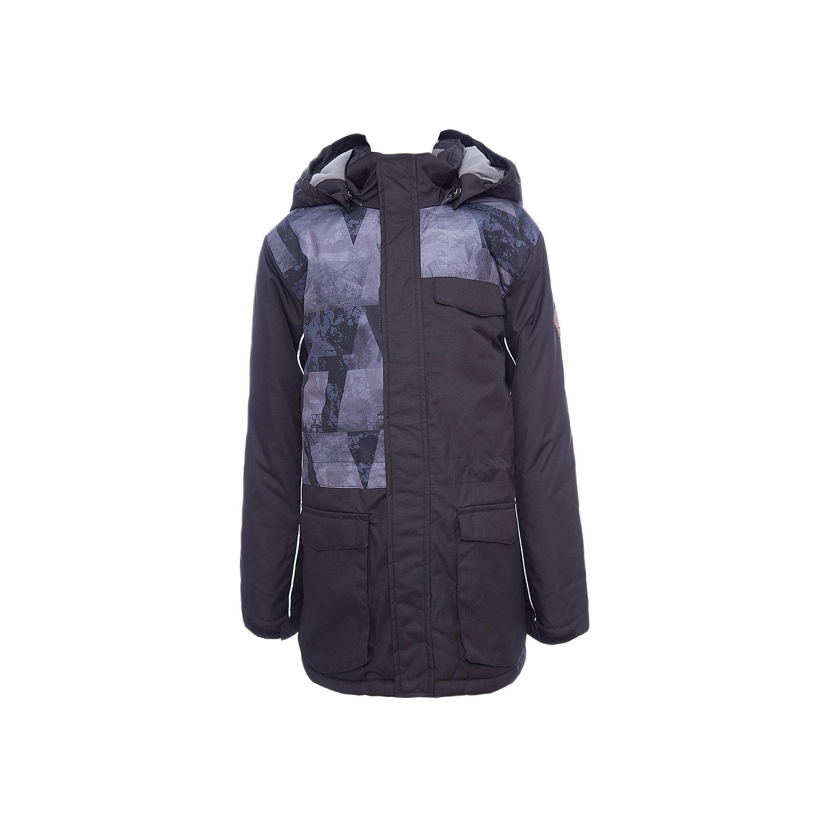 Куртка AMIKA Huppa для мальчикаЗимние куртки<br>Характеристики товара:<br><br>• модель: Amika;<br>• состав: 100% полиэстер;<br>• утеплитель:  нового поколенияHuppaTherm,300 гр.;<br>• подкладка: полиэстер, тафта, pritex;<br>• сезон: зима;<br>• температурный режим: от - 5 до - 25С;<br>• водонепроницаемость: 10000 мм;<br>• воздухопроницаемость: 10000 г/м2/24ч;<br>• все швы проклеены и не пропускают влагу;<br>• защитная планка молнии;<br>• защита подбородка от защемления;<br>• капюшон крепится на кнопки и, при необходимости, отстегивается;<br>• кулиска по талии;<br>• вместительные карманы;<br>• светоотражающие элементы для безопасности ребенка;<br>• регулируемые рукава на липучке с дополнительным вязаным манжетом внутри; <br>• страна бренда: Финляндия;<br>• страна изготовитель: Эстония.<br><br>Куртка для мальчиков Amika, универсальная парка сшита из воздухопроницаемой ткани,водоотталкивающей,ветрозащитной,отлично подходящей для активного отдыха. В куртке Amika 300 грамм утеплителя, которые обеспечат тепло и комфорт ребенку при температуре от -5 до -25 градусов.Подкладка —полиэстер, тафта, pritex. Модель с кулисой по талии, множеством вместительных карманов, основные швы проклеены.Застежка:молния YKK,закрытая клапаном на кнопках.<br><br>Функциональные элементы: безопасное крепление капюшона на кнопках, верхняя часть молнии оснащена защитой для подбородка, светоотражающие элементы, регулируемые рукава на липучке с дополнительным вязаным манжетом внутри.<br><br>Куртку Amika для мальчика бренда HUPPA  можно купить в нашем интернет-магазине.<br><br>Ширина мм: 356<br>Глубина мм: 10<br>Высота мм: 245<br>Вес г: 519<br>Цвет: черный<br>Возраст от месяцев: 60<br>Возраст до месяцев: 72<br>Пол: Мужской<br>Возраст: Детский<br>Размер: 116,122,128,134,140,146,152,158,164,170,110<br>SKU: 7025030