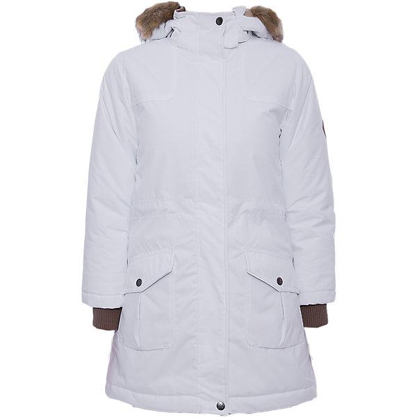 Куртка MONA Huppa для девочкиВерхняя одежда<br>Характеристики товара:<br><br>• модель: Mona;<br>• цвет: белый;<br>• состав: 100% полиэстер;<br>• утеплитель: полиэстер,300 гр.;<br>• подкладка: полиэстер, тафта, флис;<br>• сезон: зима;<br>• температурный режим: от - 5 до - 30С;<br>• водонепроницаемость: 10000 мм;<br>• воздухопроницаемость: 10000 г/м2/24ч;<br>• влагостойкие, водоотталкивающие, ветрозащитные и дышащие материалы.<br>• плечевые швы проклеены и не пропускают влагу;<br>• защитная планка молнии;<br>• двухсторонняя молния;<br>• безопасный отстёгивающийся капюшон;<br>• съемный искусственный мех на капюшоне;<br>• по линии талии регулируемый стопперами резиновый шнур;<br>• два накладных кармана;<br>• светоотражающие элементы для безопасности ребенка;<br>• внутренние вязаные манжеты на рукавах; <br>• страна бренда: Финляндия;<br>• страна изготовитель: Эстония.<br><br>Модная белоснежная парка Mona от бренда Huppa – желанное приобретение для следящих за модой девушек. Стильная модель радует безупречным дизайном. <br><br>Помимо внешней красоты парка отличается высокой функциональностью. Такое облачение не позволит владелице замёрзнуть даже в 30-ти градусный мороз. Глубокий капюшон с пушистой меховой оторочкой сделает зимние прогулки ещё комфортнее. Пара глубоких карманов на заклёпках уберегут вещи от снега. Широкие манжеты-резинки повышают теплосберегающие свойства модели, а также препятствуют проникновению под одежду снега. На подоле и талии предусмотрены регулирующие шнурки.Бегунок молнии открывается/закрывается снизу и сверху.Имеются светоотражательные элементы.<br><br>Куртку Mona для девочки бренда HUPPA  можно купить в нашем интернет-магазине.<br><br>Ширина мм: 356<br>Глубина мм: 10<br>Высота мм: 245<br>Вес г: 519<br>Цвет: белый<br>Возраст от месяцев: 156<br>Возраст до месяцев: 168<br>Пол: Женский<br>Возраст: Детский<br>Размер: 164,170,158,152,146,140,134,128,122,116,110,104<br>SKU: 7025042