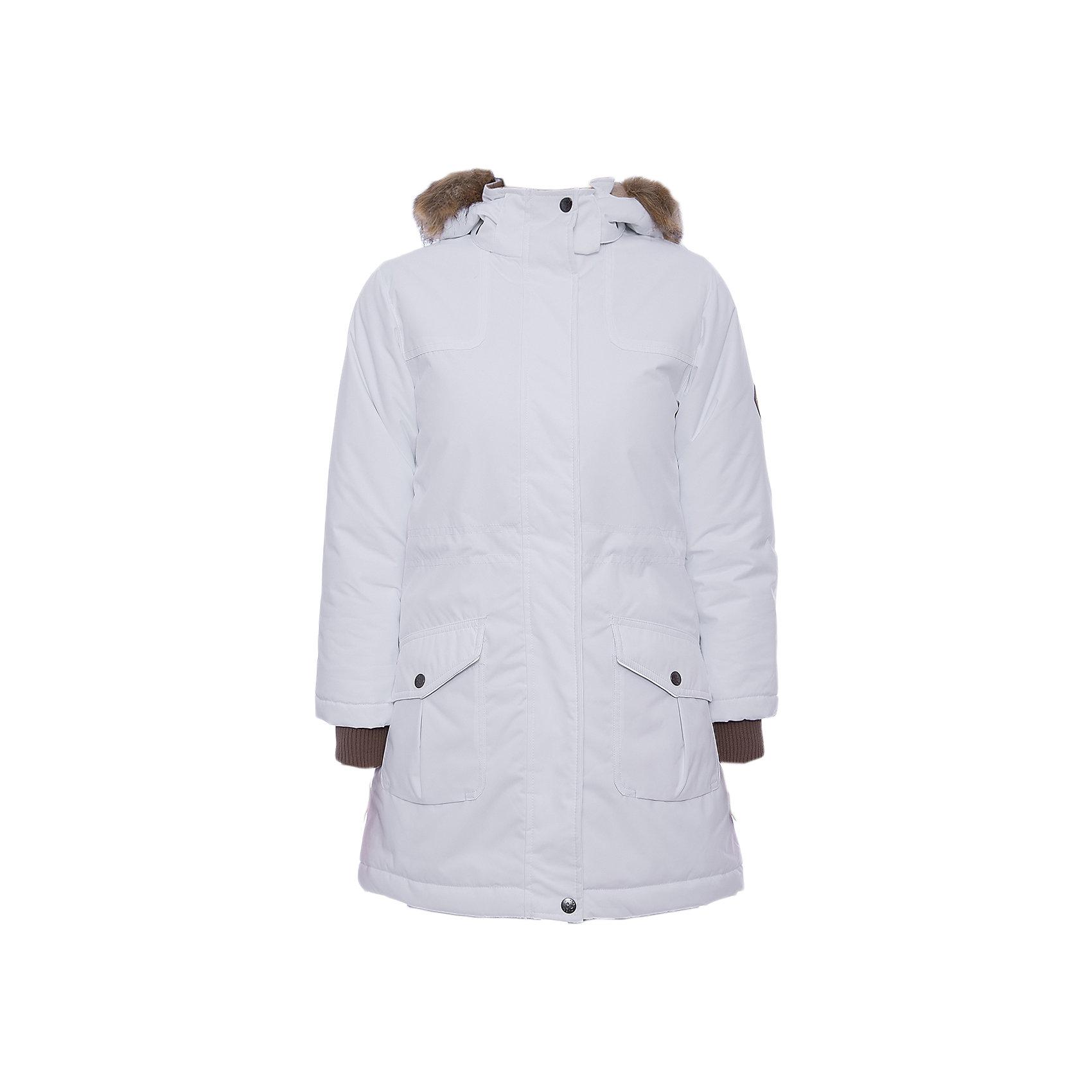 Куртка MONA Huppa для девочкиВерхняя одежда<br>Характеристики товара:<br><br>• модель: Mona;<br>• цвет: белый;<br>• состав: 100% полиэстер;<br>• утеплитель: полиэстер,300 гр.;<br>• подкладка: полиэстер, тафта, флис;<br>• сезон: зима;<br>• температурный режим: от - 5 до - 30С;<br>• водонепроницаемость: 10000 мм;<br>• воздухопроницаемость: 10000 г/м2/24ч;<br>• влагостойкие, водоотталкивающие, ветрозащитные и дышащие материалы.<br>• плечевые швы проклеены и не пропускают влагу;<br>• защитная планка молнии;<br>• двухсторонняя молния;<br>• безопасный отстёгивающийся капюшон;<br>• съемный искусственный мех на капюшоне;<br>• по линии талии регулируемый стопперами резиновый шнур;<br>• два накладных кармана;<br>• светоотражающие элементы для безопасности ребенка;<br>• внутренние вязаные манжеты на рукавах; <br>• страна бренда: Финляндия;<br>• страна изготовитель: Эстония.<br><br>Модная белоснежная парка Mona от бренда Huppa – желанное приобретение для следящих за модой девушек. Стильная модель радует безупречным дизайном. <br><br>Помимо внешней красоты парка отличается высокой функциональностью. Такое облачение не позволит владелице замёрзнуть даже в 30-ти градусный мороз. Глубокий капюшон с пушистой меховой оторочкой сделает зимние прогулки ещё комфортнее. Пара глубоких карманов на заклёпках уберегут вещи от снега. Широкие манжеты-резинки повышают теплосберегающие свойства модели, а также препятствуют проникновению под одежду снега. На подоле и талии предусмотрены регулирующие шнурки.Бегунок молнии открывается/закрывается снизу и сверху.Имеются светоотражательные элементы.<br><br>Куртку Mona для девочки бренда HUPPA  можно купить в нашем интернет-магазине.<br><br>Ширина мм: 356<br>Глубина мм: 10<br>Высота мм: 245<br>Вес г: 519<br>Цвет: белый<br>Возраст от месяцев: 72<br>Возраст до месяцев: 84<br>Пол: Женский<br>Возраст: Детский<br>Размер: 122,128,134,140,146,152,158,164,170,104,110,116<br>SKU: 7025042