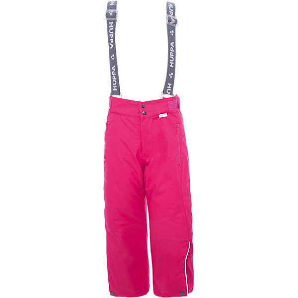 Полукомбинезон GENNA 1 Huppa для девочкиВерхняя одежда<br>Характеристики товара:<br><br>• модель: Genna 1;<br>• цвет: фуксия;<br>• состав: 100% полиэстер;<br>• утеплитель: нового поколенияHuppaTherm, 120 гр.;<br>• подкладка: полиэстер,тафта,pritex;<br>• сезон: зима;<br>• температурный режим: от - 5 до - 30С;<br>• водонепроницаемость: 10000 мм;<br>• воздухопроницаемость: 10000 г/м2/24ч;<br>• влагоустойчивая и дышащая ткань верхнего слоя изделияпозволяет сохранить внутри собственное тепло ребенка и препятствует попаданию извне холодного воздуха;<br>• эластичные подтяжки регулируются по длине; <br>• регулируемый пояс; <br>• карманы застегиваются на молнию;<br>• шаговый шов,внутренние и боковые швы проклеены, для дополнительной защиты от протекания;<br>• внутри дополнительная штанина на резинке, предотвращает попадание снега внутрь;<br>• низ брюк затягивается на шнурок с фиксатором;<br>• светоотражающие элементы для безопасности ребенка;<br>• страна бренда: Финляндия;<br>• страна изготовитель: Эстония.<br><br><br>Зимние брюки Genna 1 для девочки бренда HUPPA - это отличный вариант для холодной зимы.<br><br>Утеплитель HuppaTherm - высокотехнологичный легкий синтетический утеплитель нового поколения. Сохраняет объем и высокую теплоизоляцию изделия. Легко стирается и быстро сохнет. Изделия HuppaTherm легкие по весу, комфортные и теплые.<br><br>Функциональные элементы:  эластичные подтяжки регулируются по длине, регулируемый пояс, карманы застегиваются на молнию, шаговый шов,внутренние и боковые швы проклеены, для дополнительной защиты от протекания,внутри дополнительная штанина на резинке, предотвращает попадание снега внутрь, низ брюк затягивается на шнурок с фиксатором, светоотражающие элементы.<br><br>Зимние брюки Genna 1 для девочки бренда HUPPA  можно купить в нашем интернет-магазине.<br>Ширина мм: 215; Глубина мм: 88; Высота мм: 191; Вес г: 336; Цвет: фуксия; Возраст от месяцев: 36; Возраст до месяцев: 48; Пол: Женский; Возраст: Детский; Размер: 128,122,116,110,104,1