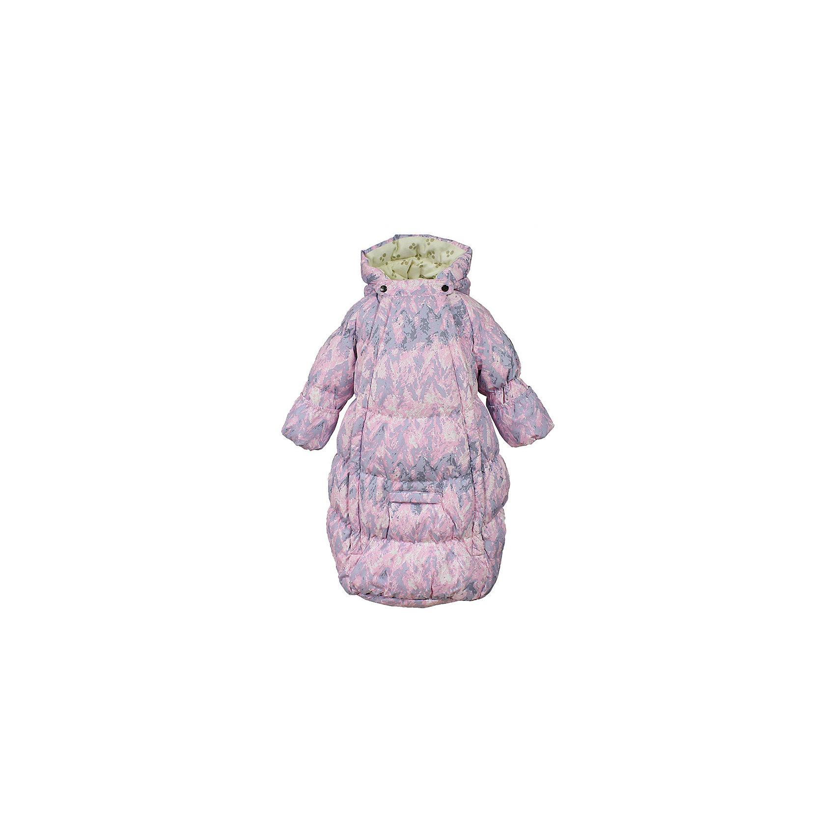 Конверт EMILY HuppaВерхняя одежда<br>Характеристики товара:<br><br>• модель: Emily;<br>• состав: 100% полиэстер;<br>• утеплитель: 50% пух, 50% перо.;<br>• подкладка: фланель,100% хлопок;<br>• сезон: зима;<br>• температурный режим: 0 до - 30С;<br>• водонепроницаемость: 5000 мм;<br>• воздухопроницаемость: 5000 г/м2/24ч;<br>• влагоустойчивая и дышащая ткань верхнего слоя изделияпозволяет сохранить внутри собственное тепло ребенка и препятствует попаданию извне холодного воздуха;<br>• две длинные молнии;<br>• регулируемый капюшон;<br>• манжеты рукавов на резинке;<br>• манжеты рукавов с отворотом;<br>• светоотражающие элементы для безопасности ребенка;<br>• страна бренда: Финляндия;<br>• страна изготовитель: Эстония.<br><br>Теплый пуховый конверт для новорождённых Emily. Мягкая фланелевая подкладка очень комфортна для малыша. Отвороты на рукавах не дадут замерзнуть маленьким ручкам. Предусмотрена прорезь для ремней автокресла.<br><br>* Температурный режим указан приблизительно — необходимо, прежде всего, ориентироваться на ощущения ребенка. Температурный режим работает в случае соблюдения правила многослойности – использования флисовой поддевы и термобелья.<br><br>Вы можете приобрести конверт EMILY Huppa(Хуппа) в нашем интернет-магазине.<br><br>Ширина мм: 356<br>Глубина мм: 10<br>Высота мм: 245<br>Вес г: 519<br>Цвет: розовый<br>Возраст от месяцев: 3<br>Возраст до месяцев: 6<br>Пол: Унисекс<br>Возраст: Детский<br>Размер: 68,56,62<br>SKU: 7025203