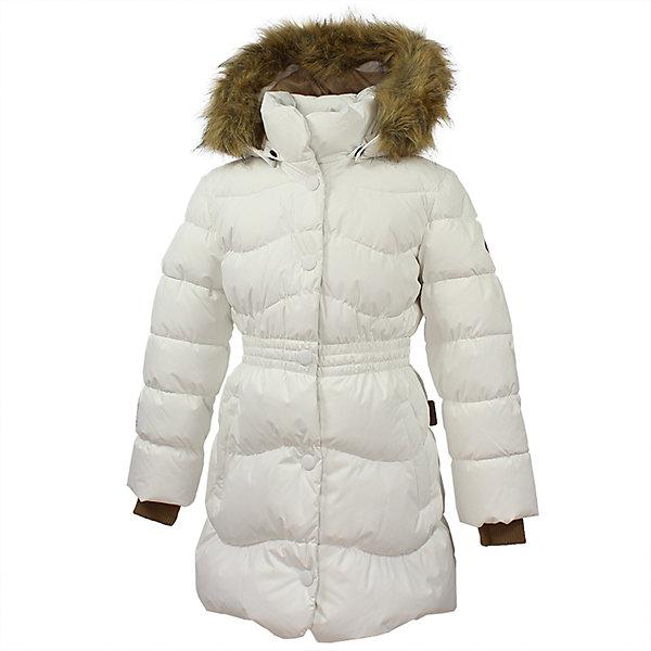 Пальто GRACE 1 Huppa для девочкиЗимние куртки<br>Характеристики товара:<br><br>• модель: Grace 1;<br>• цвет: белый;<br>• пол: девочка;<br>• состав: 100% полиэстер;<br>• утеплитель: 50% пух, 50% перо.;<br>• подкладка: тафта,полиэстер;<br>• сезон: зима;<br>• температурный режим: от - 5 до - 30С;<br>• водонепроницаемость: 5000 мм;<br>• воздухопроницаемость: 5000 г/м2/24ч;<br>• влагоустойчивая и дышащая ткань верхнего слоя изделияпозволяет сохранить внутри собственное тепло ребенка и препятствует попаданию извне холодного воздуха;<br>• воротник-стойка застегивается на застежку-молнию и кнопки;<br>• безопасный капюшон при необходимости, отстегивается;<br>• мех на капюшоне съемный;<br>• низ рукавов дополнен эластичными манжетами;<br>• карманы на молнии;<br>• светоотражающие детали для безопасности ребенка;<br>• страна бренда: Финляндия;<br>• страна изготовитель: Эстония.<br><br>Стильное пальто Grace 1 для девочки бренда Huppa идеально подойдет для ребенка в прохладное время года. Модель изготовлена из полиэстера.Подкладка —  тафта,полиэстер.<br> <br>Пальто с капюшоном и небольшим воротником-стойкой застегивается на застежку-молнию и кнопки. Капюшон оформлен съемным мехом. Низ рукавов дополнен эластичными манжетами, не стягивающими запястья. Карманы на молнии надежно сохранят все сокровища. Такое стильное пальто станет прекрасным дополнением гардеробу вашей девочки, оно подарит комфорт и тепло.<br><br>Вы можете приобрести стильное пальто Grace 1 для девочки бренда Huppa(Хуппа) в нашем интернет-магазине.<br><br>Ширина мм: 356<br>Глубина мм: 10<br>Высота мм: 245<br>Вес г: 519<br>Цвет: белый<br>Возраст от месяцев: 48<br>Возраст до месяцев: 60<br>Пол: Женский<br>Возраст: Детский<br>Размер: 110,104,140,134,128,122,116<br>SKU: 7025227