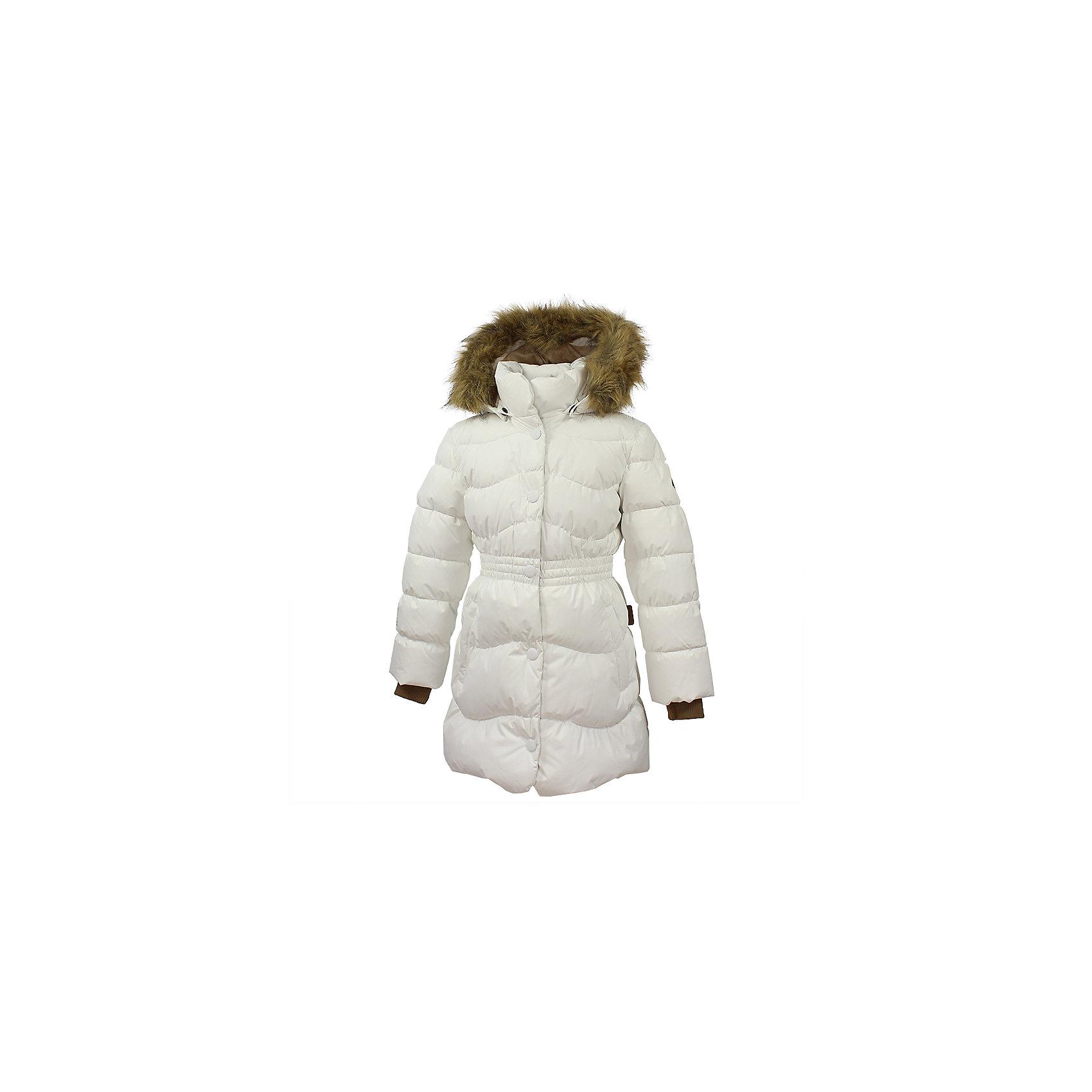 Пальто GRACE 1 Huppa для девочкиЗимние куртки<br>Характеристики товара:<br><br>• модель: Grace 1;<br>• цвет: белый;<br>• пол: девочка;<br>• состав: 100% полиэстер;<br>• утеплитель: 50% пух, 50% перо.;<br>• подкладка: тафта,полиэстер;<br>• сезон: зима;<br>• температурный режим: от - 5 до - 30С;<br>• водонепроницаемость: 5000 мм;<br>• воздухопроницаемость: 5000 г/м2/24ч;<br>• влагоустойчивая и дышащая ткань верхнего слоя изделияпозволяет сохранить внутри собственное тепло ребенка и препятствует попаданию извне холодного воздуха;<br>• воротник-стойка застегивается на застежку-молнию и кнопки;<br>• безопасный капюшон при необходимости, отстегивается;<br>• мех на капюшоне съемный;<br>• низ рукавов дополнен эластичными манжетами;<br>• карманы на молнии;<br>• светоотражающие детали для безопасности ребенка;<br>• страна бренда: Финляндия;<br>• страна изготовитель: Эстония.<br><br>Стильное пальто Grace 1 для девочки бренда Huppa идеально подойдет для ребенка в прохладное время года. Модель изготовлена из полиэстера.Подкладка —  тафта,полиэстер.<br> <br>Пальто с капюшоном и небольшим воротником-стойкой застегивается на застежку-молнию и кнопки. Капюшон оформлен съемным мехом. Низ рукавов дополнен эластичными манжетами, не стягивающими запястья. Карманы на молнии надежно сохранят все сокровища. Такое стильное пальто станет прекрасным дополнением гардеробу вашей девочки, оно подарит комфорт и тепло.<br><br>Вы можете приобрести стильное пальто Grace 1 для девочки бренда Huppa(Хуппа) в нашем интернет-магазине.<br><br>Ширина мм: 356<br>Глубина мм: 10<br>Высота мм: 245<br>Вес г: 519<br>Цвет: белый<br>Возраст от месяцев: 108<br>Возраст до месяцев: 120<br>Пол: Женский<br>Возраст: Детский<br>Размер: 140,104,110,116,122,128,134<br>SKU: 7025227