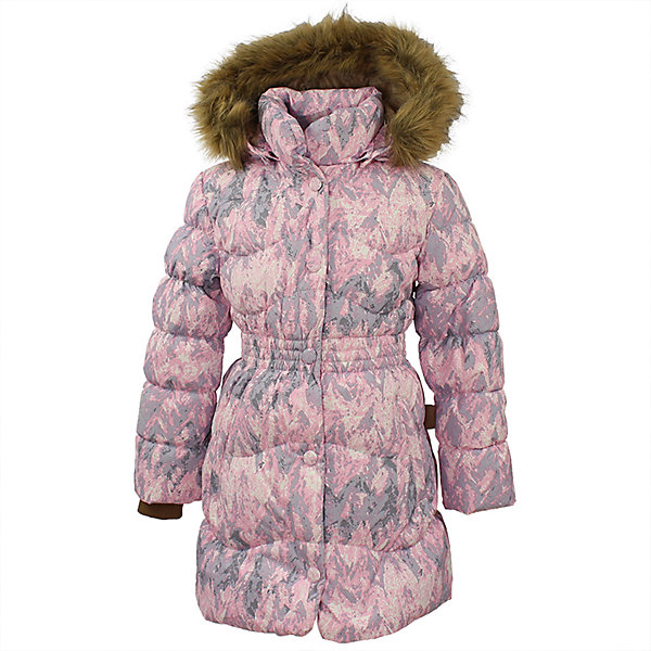 Пальто GRACE 1 Huppa для девочкиПальто и плащи<br>Характеристики товара:<br><br>• модель: Grace 1;<br>• цвет: cветло-розовый;<br>• пол: девочка;<br>• состав: 100% полиэстер;<br>• утеплитель: 50% пух, 50% перо.;<br>• подкладка: тафта,полиэстер;<br>• сезон: зима;<br>• температурный режим: от - 5 до - 30С;<br>• водонепроницаемость: 5000 мм;<br>• воздухопроницаемость: 5000 г/м2/24ч;<br>• влагоустойчивая и дышащая ткань верхнего слоя изделияпозволяет сохранить внутри собственное тепло ребенка и препятствует попаданию извне холодного воздуха;<br>• воротник-стойка застегивается на застежку-молнию и кнопки;<br>• безопасный капюшон при необходимости, отстегивается;<br>• мех на капюшоне съемный;<br>• низ рукавов дополнен эластичными манжетами;<br>• карманы на молнии;<br>• светоотражающие детали для безопасности ребенка;<br>• страна бренда: Финляндия;<br>• страна изготовитель: Эстония.<br><br>Стильное пальто Grace 1 для девочки бренда Huppa идеально подойдет для ребенка в прохладное время года. Модель изготовлена из полиэстера.Подкладка —  тафта,полиэстер.<br> <br>Пальто с капюшоном и небольшим воротником-стойкой застегивается на застежку-молнию и кнопки. Капюшон оформлен съемным мехом. Низ рукавов дополнен эластичными манжетами, не стягивающими запястья. Карманы на молнии надежно сохранят все сокровища. Такое стильное пальто станет прекрасным дополнением гардеробу вашей девочки, оно подарит комфорт и тепло.<br><br>Вы можете приобрести стильное пальто Grace 1 для девочки бренда Huppa(Хуппа) в нашем интернет-магазине.<br><br>Ширина мм: 356<br>Глубина мм: 10<br>Высота мм: 245<br>Вес г: 519<br>Цвет: розовый<br>Возраст от месяцев: 108<br>Возраст до месяцев: 120<br>Пол: Женский<br>Возраст: Детский<br>Размер: 140,104,110,116,122,128,134<br>SKU: 7025235
