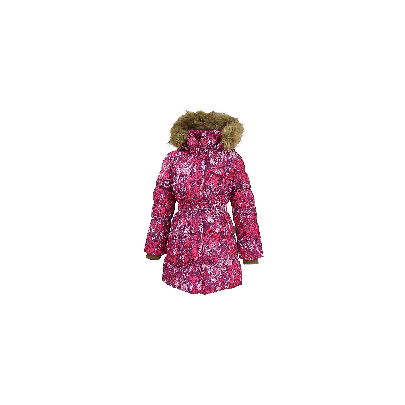 Пальто GRACE 1 Huppa для девочкиВерхняя одежда<br>Характеристики товара:<br><br>• модель: Grace 1;<br>• состав: 100% полиэстер;<br>• утеплитель: 50% пух, 50% перо.;<br>• подкладка: тафта,полиэстер;<br>• сезон: зима;<br>• температурный режим: от - 5 до - 30С;<br>• водонепроницаемость: 5000 мм;<br>• воздухопроницаемость: 5000 г/м2/24ч;<br>• влагоустойчивая и дышащая ткань верхнего слоя изделияпозволяет сохранить внутри собственное тепло ребенка и препятствует попаданию извне холодного воздуха;<br>• воротник-стойка застегивается на застежку-молнию и кнопки;<br>• безопасный капюшон при необходимости, отстегивается;<br>• мех на капюшоне съемный;<br>• низ рукавов дополнен эластичными манжетами;<br>• карманы на молнии;<br>• светоотражающие детали для безопасности ребенка;<br>• страна бренда: Финляндия;<br>• страна изготовитель: Эстония.<br><br>Стильное пальто Grace 1 для девочки бренда Huppa идеально подойдет для ребенка в прохладное время года. Модель изготовлена из полиэстера.Подкладка —  тафта,полиэстер.<br> <br>Пальто с капюшоном и небольшим воротником-стойкой застегивается на застежку-молнию и кнопки. Капюшон оформлен съемным мехом. Низ рукавов дополнен эластичными манжетами, не стягивающими запястья. Карманы на молнии надежно сохранят все сокровища. Такое стильное пальто станет прекрасным дополнением гардеробу вашей девочки, оно подарит комфорт и тепло.<br><br>Вы можете приобрести стильное пальто Grace 1 для девочки бренда Huppa(Хуппа) в нашем интернет-магазине.<br><br>Ширина мм: 356<br>Глубина мм: 10<br>Высота мм: 245<br>Вес г: 519<br>Цвет: фуксия<br>Возраст от месяцев: 108<br>Возраст до месяцев: 120<br>Пол: Женский<br>Возраст: Детский<br>Размер: 140,104,110,116,122,128,134<br>SKU: 7025243