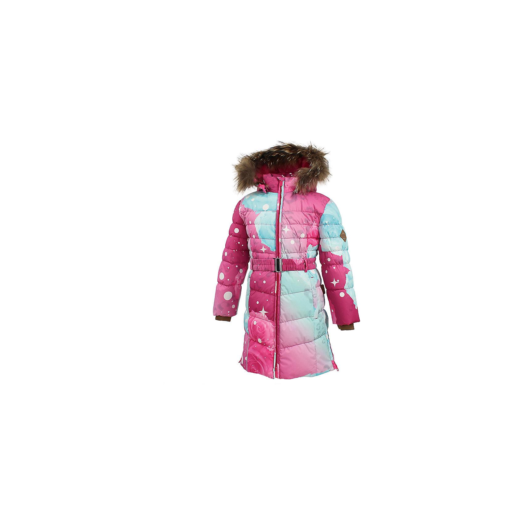 Пальто YASMINE Huppa для девочкиВерхняя одежда<br>Пальто для девочек YASMINE.Водо и воздухонепроницаемость 5 000.Утеплитель 50% пух, 50% перо.Подкладка тафта 100% полиэстер.Карманы на молнии.Двухсторонняя молния.Съемный капюшон с отстегивающимся мехом.Внутренний манжет рукава. Имеются светоотажательные элементы.<br>Состав:<br>100% Полиэстер<br><br>Ширина мм: 356<br>Глубина мм: 10<br>Высота мм: 245<br>Вес г: 519<br>Цвет: фуксия<br>Возраст от месяцев: 36<br>Возраст до месяцев: 48<br>Пол: Женский<br>Возраст: Детский<br>Размер: 104<br>SKU: 7025302