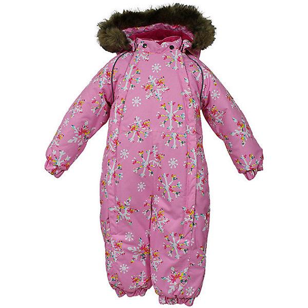 Комбинезон KEIRA Huppa для девочкиВерхняя одежда<br>Характеристики товара:<br><br>• модель: Keira;<br>• цвет: розовый принт;<br>• пол: девочка;<br>• состав: 100% полиэстер;<br>• утеплитель: нового поколенияHuppaTherm, 300 гр.;<br>• подкладка: 100% хлопок,фланель;<br>• сезон: зима;<br>• температурный режим: от -5 до - 30С;<br>• водонепроницаемость: 10000 мм;<br>• воздухопроницаемость: 10000 г/м2/24ч;<br>• водо- и ветронепроницаемый, дышащий и грязеотталкивающий материал;<br>• особенности модели: c рисунком, с мехом на капюшоне;<br>• капюшон для большего удобства крепится на кнопки и, при необходимости, отстегивается;<br>• мех на капюшоне не съемный;<br>• сидельныйшов проклеен водостойкой лентой, для дополнительной защиты от протекания;<br>• светоотражающих элементов для безопасности ребенка;<br>• две боковые молнии;<br>• эластичные манжеты на резинках, с отворотом (у размеров 68-80);<br>• манжеты брюк на резинке;<br>• съемные силиконовые штрипки;<br>• у брючин отсутствуют внутренние швы;<br>• страна бренда: Финляндия;<br>• страна изготовитель: Эстония.<br><br>Комбинезон Keira зимний - отличный вариант для холодной зимы.Важный критерий при выборе комбинезона для девочки - это количество утеплителя, ведь малыши еще малоподвижны. поэтому комбинезон должен быть теплым.<br><br> В модели Keira 300 грамм утеплителя, которые обеспечат тепло и комфорт ребенку при температуре от -5 до -30 градусов. Подкладка — из 100% хлопка ( фланель).<br><br>Функциональные элементы: капюшон отстегивается с помощью кнопок, мех пришит, манжеты на резинке,с отворотом у размеров 68-80. Сидельныйшов проклеен водостойкой лентой, для дополнительной защиты от протекания, две длинные молнии для удобного надевания, манжеты брюк на резинке, у брючин отсутствуют внутренние швы, съемные силиконовые штрипки, светоотражающие элементы.<br><br>Комбинезон Keira для девочки Huppa (Хуппа) можно купить в нашем интернет-магазине.<br><br>Ширина мм: 356<br>Глубина мм: 10<br>Высота мм: 245<br>Вес г: 519<br>Цвет: роз