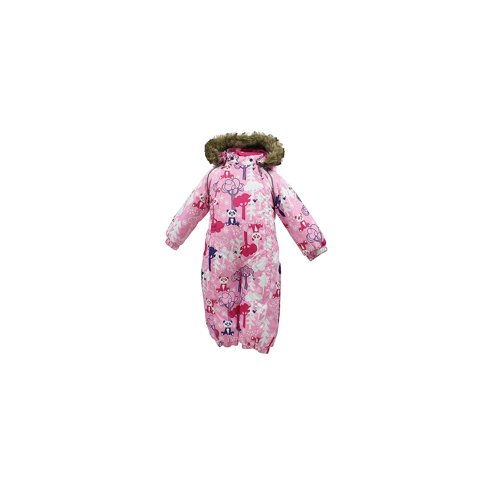 Комбинезон KEIRA HuppaВерхняя одежда<br>Характеристики товара:<br><br>• модель: Keira;<br>• цвет: розовый принт;<br>• пол: девочка;<br>• состав: 100% полиэстер;<br>• утеплитель: нового поколенияHuppaTherm, 300 гр.;<br>• подкладка: 100% хлопок,фланель;<br>• сезон: зима;<br>• температурный режим: от -5 до - 30С;<br>• водонепроницаемость: 5000 мм;<br>• воздухопроницаемость: 5000 г/м2/24ч;<br>• водо- и ветронепроницаемый, дышащий и грязеотталкивающий материал;<br>• особенности модели: c рисунком, с мехом на капюшоне;<br>• капюшон для большего удобства крепится на кнопки и, при необходимости, отстегивается;<br>• мех на капюшоне не съемный;<br>• сидельныйшов проклеен водостойкой лентой, для дополнительной защиты от протекания;<br>• светоотражающих элементов для безопасности ребенка;<br>• две боковые молнии;<br>• эластичные манжеты на резинках, с отворотом (у размеров 68-80);<br>• манжеты брюк на резинке;<br>• съемные силиконовые штрипки;<br>• у брючин отсутствуют внутренние швы;<br>• страна бренда: Финляндия;<br>• страна изготовитель: Эстония.<br><br>Комбинезон Keira зимний - отличный вариант для холодной зимы.Важный критерий при выборе комбинезона для девочки - это количество утеплителя, ведь малыши еще малоподвижны. поэтому комбинезон должен быть теплым.<br><br> В модели Keira 300 грамм утеплителя, которые обеспечат тепло и комфорт ребенку при температуре от -5 до -30 градусов. Подкладка — из 100% хлопка ( фланель).<br><br>Функциональные элементы: капюшон отстегивается с помощью кнопок, мех пришит, манжеты на резинке,с отворотом у размеров 68-80. Сидельныйшов проклеен водостойкой лентой, для дополнительной защиты от протекания, две длинные молнии для удобного надевания, манжеты брюк на резинке, у брючин отсутствуют внутренние швы, съемные силиконовые штрипки, светоотражающие элементы.<br><br>Комбинезон Keira для девочки Huppa (Хуппа) можно купить в нашем интернет-магазине.<br><br>Ширина мм: 356<br>Глубина мм: 10<br>Высота мм: 245<br>Вес г: 519<br>Цвет: светло-розовый<br
