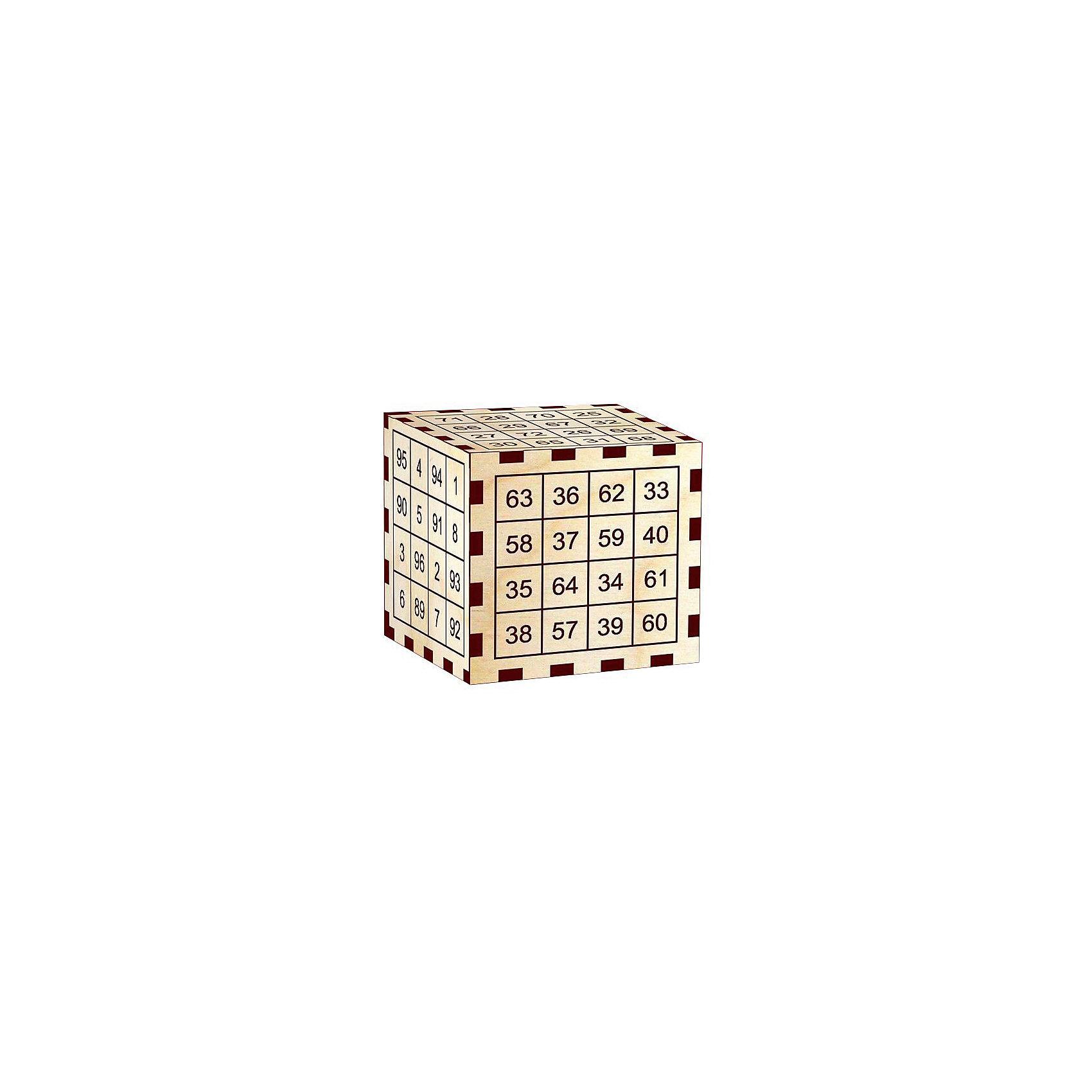 Головоломка Математический фокус.Чудесный куб, Полноцвет