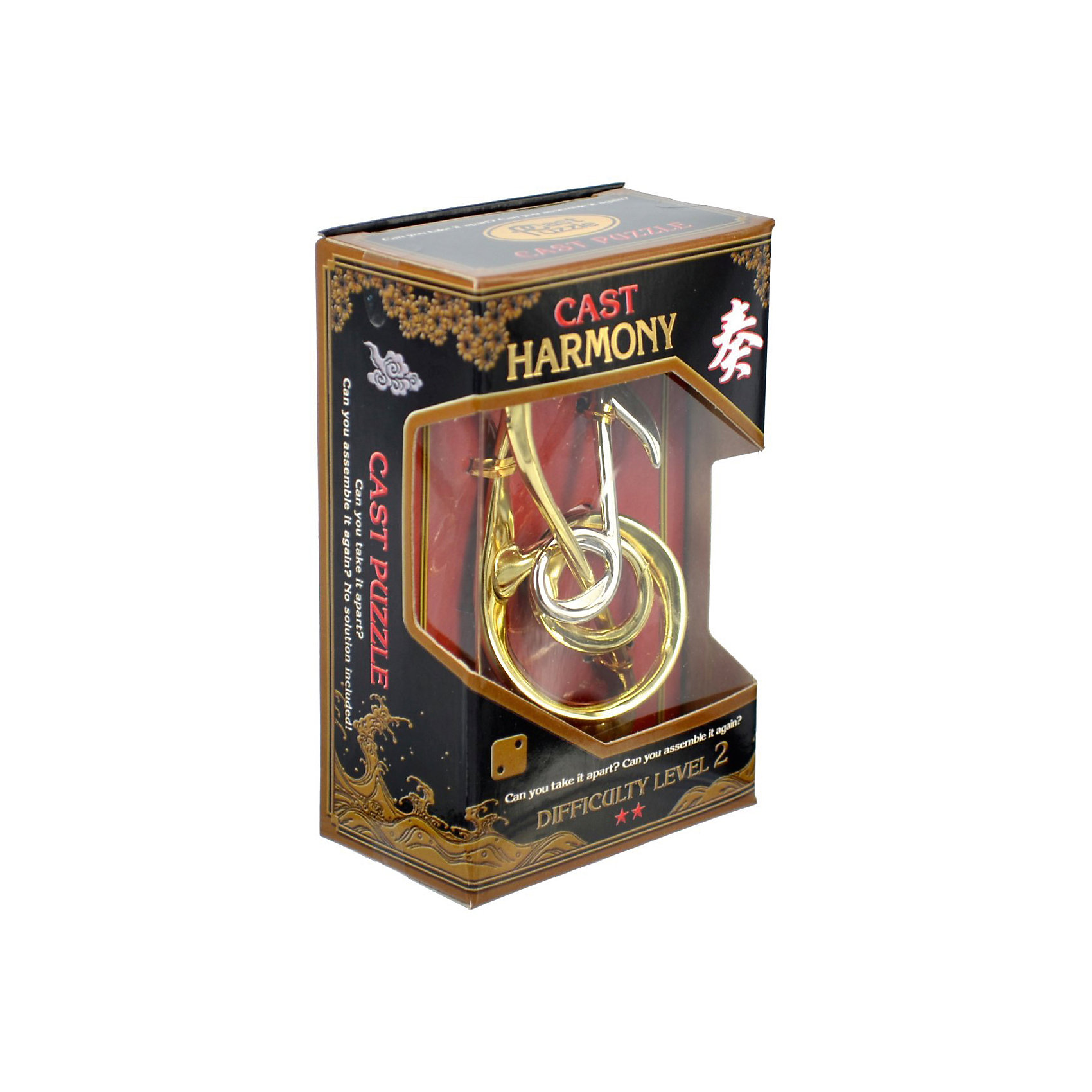 Головоломка Гармония, Hanayama Cast PuzzleЖелезные головоломки<br>Характеристики:<br><br>• возраст: от 5 лет;<br>• уровень сложности: 2;<br>• материал: металл;<br>• размер головоломки: 10х5х2 см;<br>• размер упаковки: 12х7,5х4,5 см;<br>• вес: 89 г;<br>• тип упаковки: коробка с окошком.<br><br>Головоломка - это прекрасный инструмент для ума, вырабатывающий неординарное видение. Увлекательное занятие для детей и взрослых разнообразит досуг.<br><br>В головоломке «Гармония» изящно переплетаются скрипичный ключ и нота. Чтобы решить головоломку, необходимо разделить ее на части и снова собрать. <br><br>Развивающие занятия стимулируют логику, пространственное мышление и тренируют мелкую моторику.<br><br>Головоломку «Гармония», Hanayama Cast Puzzle можно приобрести в нашем интернет-магазине.<br><br>Ширина мм: 45<br>Глубина мм: 75<br>Высота мм: 120<br>Вес г: 89<br>Возраст от месяцев: 36<br>Возраст до месяцев: 2147483647<br>Пол: Унисекс<br>Возраст: Детский<br>SKU: 7025976