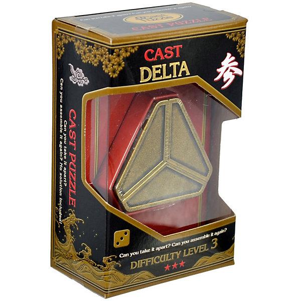 Головоломка Дельта, Hanayama Cast PuzzleКлассические головоломки<br>Характеристики:<br><br>• возраст: от 7 лет;<br>• уровень сложности: 3;<br>• материал: металл;<br>• размер головоломки: 6х5х3 см;<br>• размер упаковки: 12х7,5х4,5 см;<br>• вес: 140 г;<br>• тип упаковки: коробка с окошком.<br><br>Головоломка - это прекрасный инструмент для ума, вырабатывающий неординарное видение. Увлекательное занятие для детей и взрослых разнообразит досуг.<br><br>В головоломке «Дельта» три отдельные части соединяются друг с другом, образуя правильную геометрическую фигуру. Чтобы решить головоломку, необходимо разделить ее на части и снова собрать. <br><br>Развивающие занятия стимулируют логику, пространственное мышление и тренируют мелкую моторику.<br><br>Головоломку «Дельта», Hanayama Cast Puzzle можно приобрести в нашем интернет-магазине.<br>Ширина мм: 45; Глубина мм: 75; Высота мм: 120; Вес г: 135; Возраст от месяцев: 36; Возраст до месяцев: 2147483647; Пол: Унисекс; Возраст: Детский; SKU: 7025977;