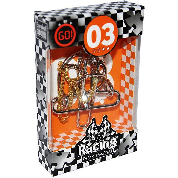 Мини головоломка, Эврика 3Железные головоломки<br>Характеристики:<br><br>• возраст: от 6 лет;<br>• уровень сложности: 2;<br>• материал: металл;<br>• размер головоломки: 3х8х0,3 см;<br>• размер упаковки: 12х8х2,5 см;<br>• вес: 77 г;<br>• тип упаковки: коробка с окошком.<br><br>Необычная головоломка для начинающих поможет познакомить детей с загадочным миром логических  игр и лабиринтов. Цель игры -  необходимо освободить цепочку, а затем вернуть ее обратно.<br><br>Головоломка - это прекрасный инструмент для ума, вырабатывающий неординарное видение. Увлекательное занятие для детей и взрослых разнообразит досуг. Развивающие занятия стимулируют логику, пространственное мышление и тренируют мелкую моторику.<br><br>Игрушка удобно помещается в ладони, ее можно брать с собой а прогулку или в путешествие.<br><br>Мини-головоломку «Эврика 3», Eureka можно приобрести в нашем интернет-магазине.<br><br>Ширина мм: 25<br>Глубина мм: 80<br>Высота мм: 120<br>Вес г: 77<br>Возраст от месяцев: 36<br>Возраст до месяцев: 2147483647<br>Пол: Унисекс<br>Возраст: Детский<br>SKU: 7025986