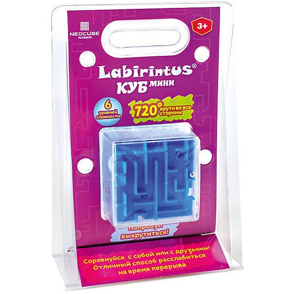 Головоломка Куб синий, 6см, ЛабиринтусГоловоломки - лабиринты<br>Характеристики:<br><br>• возраст: от 7 лет;<br>• уровень сложности: 3;<br>• материал: пластик, металл;<br>• размер упаковки: 13х19х3,5 см;<br>• размер головоломки: 6х6х6 см;<br>• вес: 120 г;<br>• тип упаковки: коробка.<br><br>Загадочный лабиринт поможет познакомить детей с миром логических  игр и головоломок. <br><br>Лабиринт из различных дорожек в прозрачном кубе с металлическим шариком понравится не только детям, но и взрослым. Цель игры – провести шарик по правильному пути до финиша, наклоняя игрушку в разные стороны.<br><br>Лабиринт - это прекрасный инструмент для ума, вырабатывающий неординарное видение. Увлекательное занятие стимулируют логику, пространственное мышление, усидчивость и тренируют мелкую моторику.<br><br>Головоломку «Куб синий, 6 см», Labirintus можно приобрести в нашем интернет-магазине.<br>Ширина мм: 130; Глубина мм: 190; Высота мм: 35; Вес г: 100; Возраст от месяцев: 36; Возраст до месяцев: 2147483647; Пол: Унисекс; Возраст: Детский; SKU: 7025997;