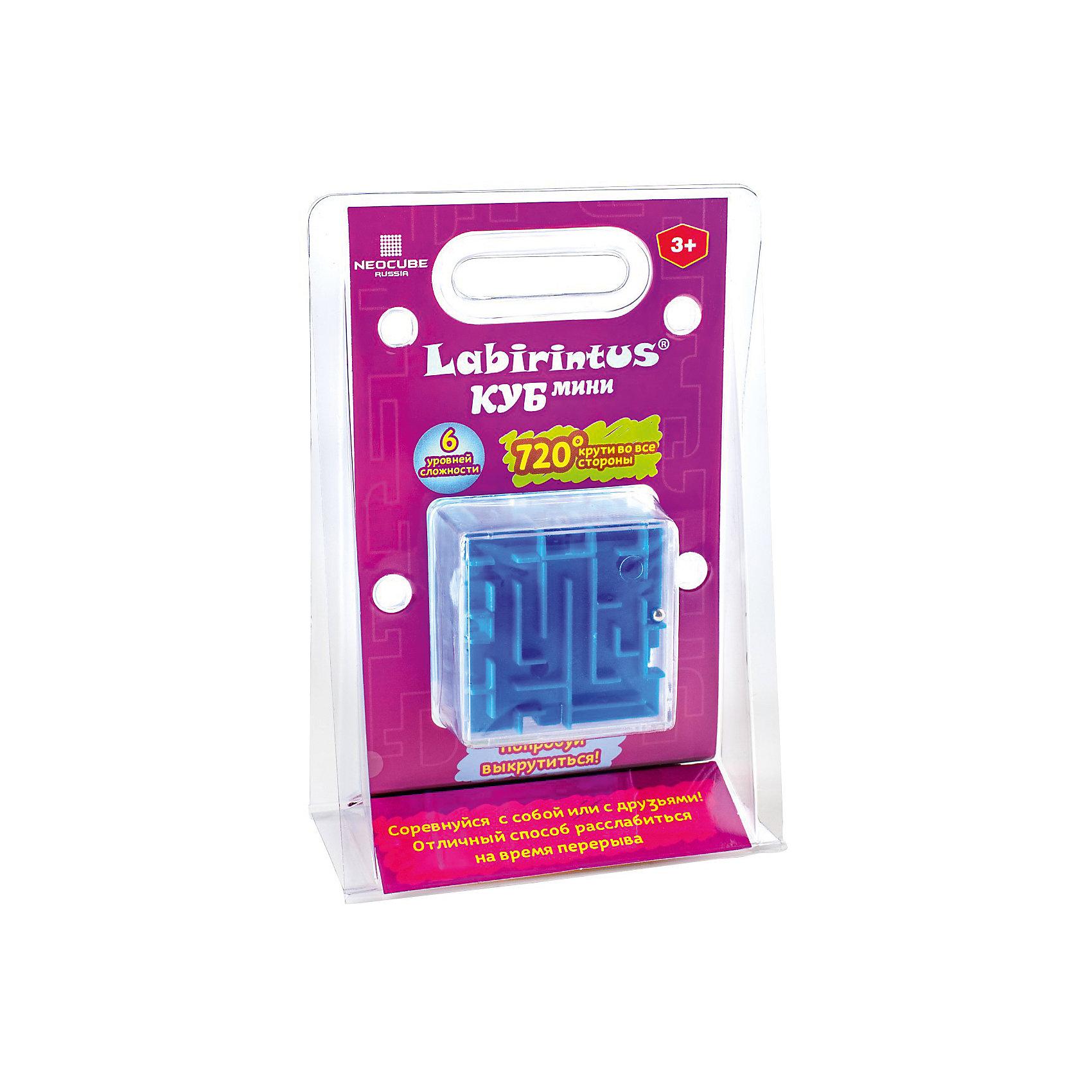 Головоломка Куб синий, 6см, ЛабиринтусОбъёмные головоломки<br>Лабиринт из различных дорожек в прозрачном кубе ведет к цели металлический шарик, путем вращения прозрачной сферы в руках. Игрушка, предназначенная развивать терпение, ловкость, память, моторику и пространственное мышление.<br><br>Ширина мм: 130<br>Глубина мм: 190<br>Высота мм: 35<br>Вес г: 100<br>Возраст от месяцев: 36<br>Возраст до месяцев: 2147483647<br>Пол: Унисекс<br>Возраст: Детский<br>SKU: 7025997