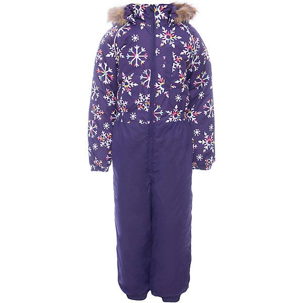 Комбинезон WILLY Huppa для девочкиВерхняя одежда<br>Характеристики товара:<br><br>• цвет:фиолетовый со снежинками<br>• сезон: зима;<br>• температурный режим: от -5 до-30;<br>• состав:  100% полиэстер;<br>• водонепроницаемость: 10000 мм;<br>• воздухопроницаемость: 10000 мм;<br>• утеплитель: 300 гр;<br>• подкладка: 100% полиэстер: тафта, флис;<br>• штрипки;<br>• капюшон крепится на кнопки, отстегивается;<br>• сидельный шов проклеен и не пропускает влагу;<br>• эластичные манжеты брюк и рукавов на резинках;<br>• застежка: молния;<br>• меховая опушка из искуственного меха.<br><br>Теплый зимний комбинезон Huppa WILLY предлагается в расцветке для девочек. У комбинезона съемный капюшон с опушкой из искусственного меха. Практичный карман на груди. Съемные штрипки на ботинок.У комбинезона Huppa WILLY имеются светоотражающие нашивки для безопасности в темное время суток. Низ рукавов и брючин собран на резинку. Для дополнительной водонепроницаемости задний шов проклеен.<br><br>Одежда Huppa не требует сложного ухода. Небольшие загрязнения легко удаляются влажной губкой, также изделия можно стирать в стиральной машине в холодной воде (30С) без использования отбеливателей и хлорсодержащих моющих средств. Перед стиркой изделие необходимо вывернуть наизнанку, закрыть все замки и крепления на липучках. Не замачивать. Не гладить. Допускается сушка изделий только при комнатной температуре.<br><br>Детский комбинезон Huppa WILLY можно купить в нашем интернет-магазине.<br><br>Ширина мм: 356<br>Глубина мм: 10<br>Высота мм: 245<br>Вес г: 519<br>Цвет: лиловый<br>Возраст от месяцев: 72<br>Возраст до месяцев: 84<br>Пол: Женский<br>Возраст: Детский<br>Размер: 122,92,116,110,104,98,134,128<br>SKU: 7026877