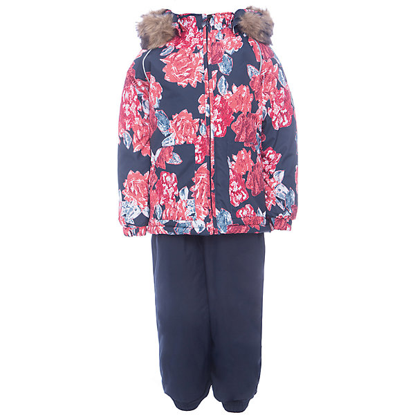 Комплект: куртка и брюки AVERY Huppa для девочкиКомплекты<br>Характеристика товара:<br><br>• цвет: синий<br>• температурный режим: от -0 до-30;<br>• утеплитель: куртка:300 грамм, брюки:160 грамм(100% полиэстер);<br>• подкладка: 100% хлопок;<br>• воздухопроницаемость: 5 000 мм куртка / 10 000 мм брюки;<br>• водонепроницаемость:  5 000 мм куртка / 10 000 мм брюки;<br>• застежка: молния;<br>• меховая опушка из искуственного меха;<br>• шаговый шов – проклеен;<br>• капюшон съемный;<br>• подтяжки на полукомбинезоне – резинки;<br>• светоотражающие детали;<br>• производитель: HUPPA (Эстония)<br><br>Красивый зимний комплект AVERY для детей младшего возраста. Легкая, но очень теплая куртка из мягкой мембранной ткани не содержит лишних деталей. В модели 300 грамм утеплителя, а значит, вы можете быть уверены, что ваш малыш не замерзнет на прогулке в морозную погоду, даже если будет двигаться не слишком активно. Комплект для малышей AVERY благодаря простым манжетам на резинке и удобной молнии легко надевать и застегивать. Капюшон с меховой опушкой сделан в форме забавного колпачка и при желании отстегивается. <br><br>Практичный однотонный полукомбинезон темного цвета выполнен из более прочной мембраны и скроен без внутренних швов, для лучшей защиты от истирания и попадания влаги. Задний шов проклеен, также для дополнительной защиты от влаги. Манжеты по низу брюк и тканевые штрипки на ботинки надежно фиксируют брюки и защищают от попадания снега. На костюмах AVERY светоотражающие элементы делают вашего ребенка более заметным на улице, даже в условиях плохой видимости и в темное время суток.<br><br>Комплект для малышей AVERY можно купить в нашем интернет-магазине.<br><br>Ширина мм: 356<br>Глубина мм: 10<br>Высота мм: 245<br>Вес г: 519<br>Цвет: синий<br>Возраст от месяцев: 12<br>Возраст до месяцев: 15<br>Пол: Женский<br>Возраст: Детский<br>Размер: 80,104,98,92,86<br>SKU: 7026970