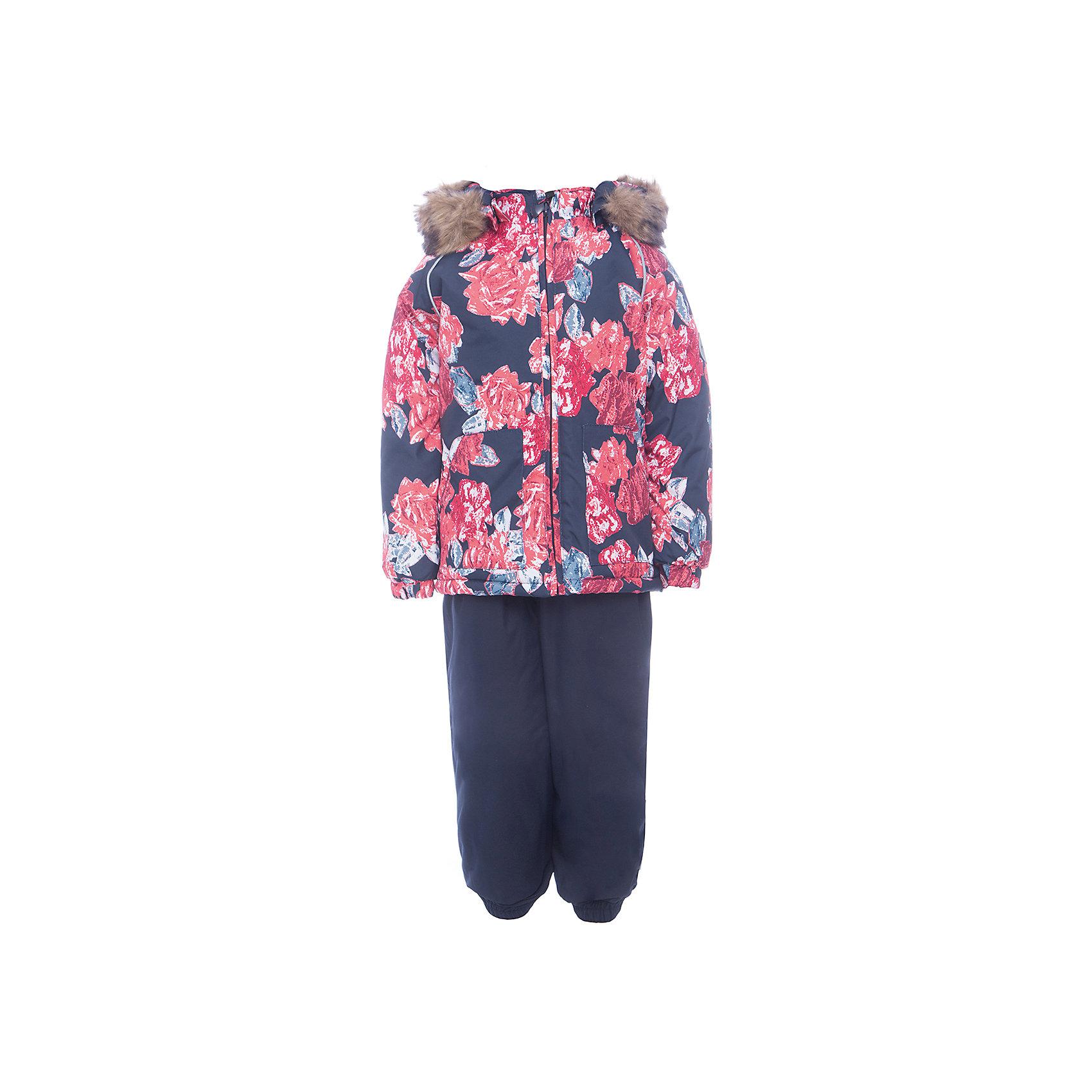 Комплект: куртка и брюки AVERY HuppaКомплекты<br>Характеристика товара:<br><br>• цвет: синий<br>• температурный режим: от -0 до-30;<br>• утеплитель: куртка:300 грамм, брюки:160 грамм(100% полиэстер);<br>• подкладка: 100% хлопок;<br>• воздухопроницаемость: 5 000 мм куртка / 10 000 мм брюки;<br>• водонепроницаемость:  5 000 мм куртка / 10 000 мм брюки;<br>• застежка: молния;<br>• меховая опушка из искуственного меха;<br>• шаговый шов – проклеен;<br>• капюшон съемный;<br>• подтяжки на полукомбинезоне – резинки;<br>• светоотражающие детали;<br>• производитель: HUPPA (Эстония)<br><br>Красивый зимний комплект AVERY для детей младшего возраста. Легкая, но очень теплая куртка из мягкой мембранной ткани не содержит лишних деталей. В модели 300 грамм утеплителя, а значит, вы можете быть уверены, что ваш малыш не замерзнет на прогулке в морозную погоду, даже если будет двигаться не слишком активно. Комплект для малышей AVERY благодаря простым манжетам на резинке и удобной молнии легко надевать и застегивать. Капюшон с меховой опушкой сделан в форме забавного колпачка и при желании отстегивается. <br><br>Практичный однотонный полукомбинезон темного цвета выполнен из более прочной мембраны и скроен без внутренних швов, для лучшей защиты от истирания и попадания влаги. Задний шов проклеен, также для дополнительной защиты от влаги. Манжеты по низу брюк и тканевые штрипки на ботинки надежно фиксируют брюки и защищают от попадания снега. На костюмах AVERY светоотражающие элементы делают вашего ребенка более заметным на улице, даже в условиях плохой видимости и в темное время суток.<br><br>Комплект для малышей AVERY можно купить в нашем интернет-магазине.<br><br>Ширина мм: 356<br>Глубина мм: 10<br>Высота мм: 245<br>Вес г: 519<br>Цвет: синий<br>Возраст от месяцев: 12<br>Возраст до месяцев: 15<br>Пол: Унисекс<br>Возраст: Детский<br>Размер: 80,104,98,92,86<br>SKU: 7026970