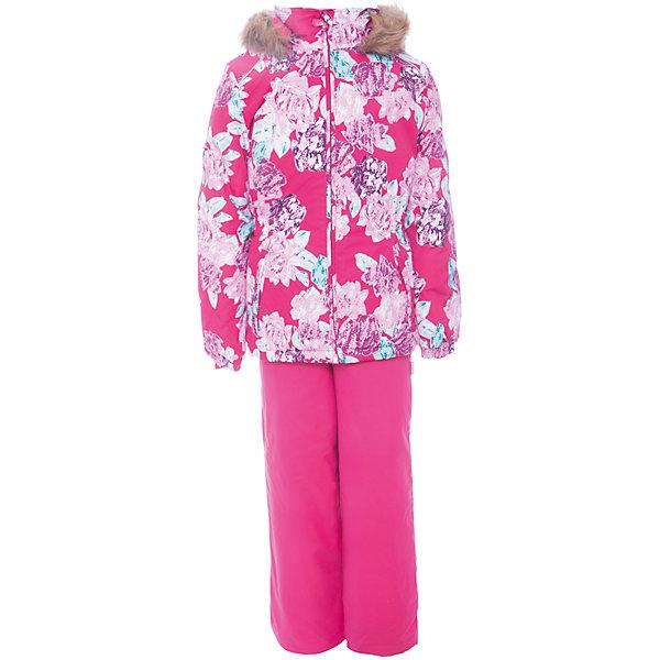 Комплект: куртка и брюки WONDER Huppa для девочкиКомплекты<br>Характеристики товара:<br><br>• цвет: розовый;<br>• пол: девочка;<br>• состав: 100% полиэстер;<br>• утеплитель: 300 гр куртка / 160гр полукомбинезон;<br>• подкладка: тафта, флис;<br>• сезон: зима;<br>• температурный режим: от -5 до - 30С;<br>• водонепроницаемость: 10000 мм ;<br>• воздухопроницаемость: 10000 г/м2/24ч;<br>• особенности модели: c рисунком; с мехом на капюшоне;<br>• сидельный шов проклеен и не пропускает влагу;<br>• манжеты рукавов эластичные, на резинках;<br>• низ брюк затягивается на шнурок с фиксатором;<br>• внутренние снегозащитные манжеты на штанинах;<br>• полукомбинезон с высокой грудкой, внутренние швы отсутствуют;<br>• эластичные подтяжки регулируются по длине;<br>• безопасный капюшон крепится на кнопки и, при необходимости, отстегивается;<br>• мех на капюшоне не съемный;<br>• светоотражающие элементы для безопасности ребенка;<br>• страна бренда: Финляндия;<br>• страна изготовитель: Эстония.<br><br>Зимний комплект Хуппа – превосходный наряд для современной девочки на осенне-зимний период. <br><br>Комплект Wonder состоит из куртки и полукомбинезона. Обе составляющие комплекта снабжены вшитыми эластичными поясками-резинками, обеспечивающими безупречную посадку одежды по фигуре. Комплект отличается повышенной комфортностью. Внутри его обрамляет мягкая тафта. Внутренняя поверхность манжет и воротника отделана флисом. Капюшон оторочен пушистым искусственным мехом. В брючинах спрятана снегозащита. У полукомбинезона отсутствуют внутренние швы. Для лучшей герметизации полукомбинезона основные швы выполнены проклеенными.<br><br>Зимний комплект Wonder для девочки фирмы HUPPA  можно купить в нашем интернет-магазине.<br><br>Ширина мм: 356<br>Глубина мм: 10<br>Высота мм: 245<br>Вес г: 519<br>Цвет: фуксия<br>Возраст от месяцев: 36<br>Возраст до месяцев: 48<br>Пол: Женский<br>Возраст: Детский<br>Размер: 104,98,92,140,134,128,122,116,110<br>SKU: 7027068