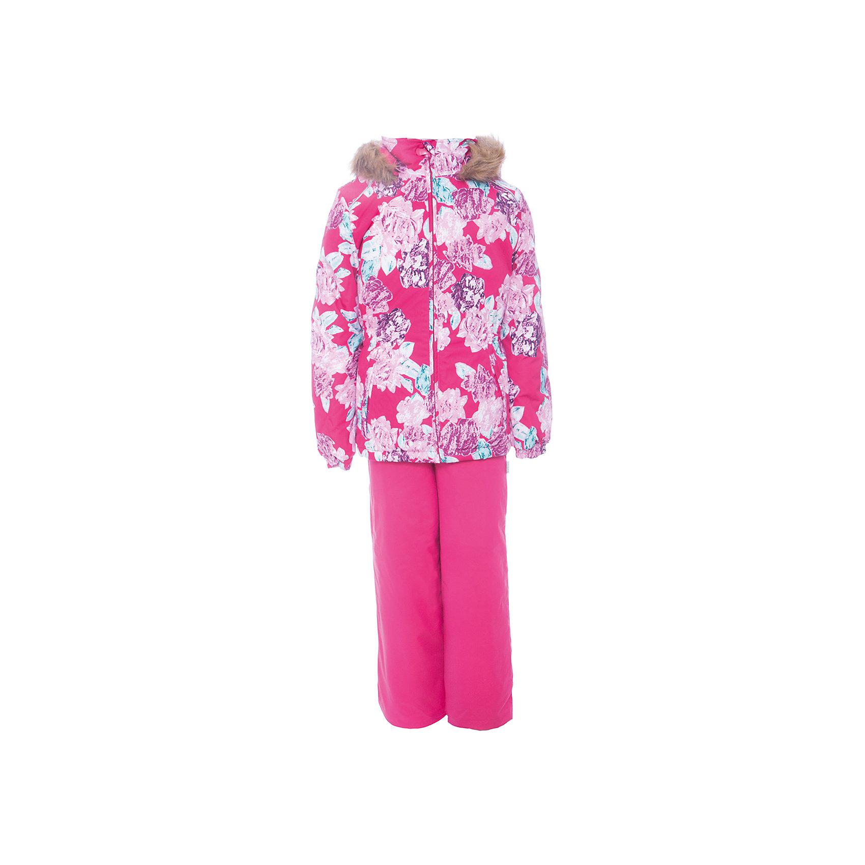 Комплект: куртка и брюки WONDER Huppa для девочкиВерхняя одежда<br>Комплект для девочек WONDER.Водо и воздухонепроницаемость  10 000.Утеплитель 300 гр куртка/160 гр брюки.Подкладка тафта, флис 100% полиэстер.Отстегивающийся капюшон с мехом.Манжеты рукавов на резинке.Регулируемые низы.Внутренняя снегозащита брюк.Швы проклеены.Резиновые подтяжки.Имеются светоотражательные элементы.<br>Состав:<br>100% Полиэстер<br><br>Ширина мм: 356<br>Глубина мм: 10<br>Высота мм: 245<br>Вес г: 519<br>Цвет: фуксия<br>Возраст от месяцев: 36<br>Возраст до месяцев: 48<br>Пол: Женский<br>Возраст: Детский<br>Размер: 104,110,116,122,128,134,140,92,98<br>SKU: 7027068