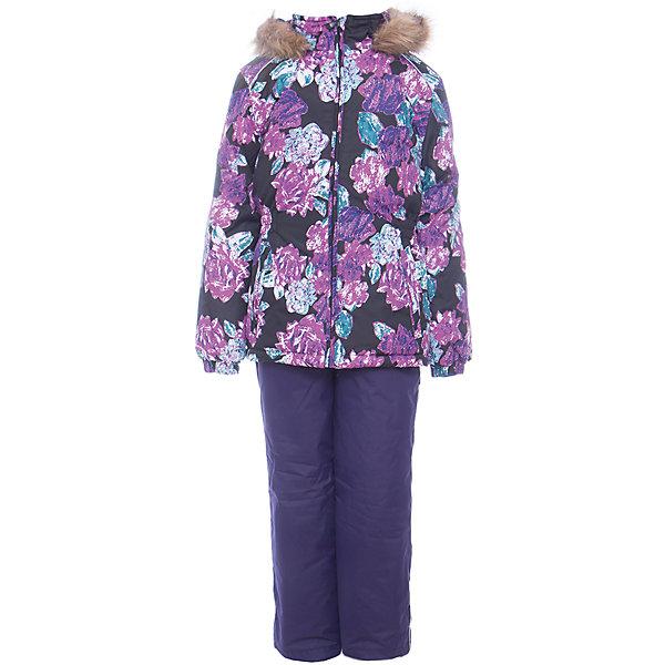 Комплект: куртка и брюки WONDER Huppa для девочкиВерхняя одежда<br>Характеристики товара:<br><br>• цвет: темно - фиолетовый;<br>• пол: девочка;<br>• состав: 100% полиэстер;<br>• утеплитель: 300 гр куртка / 160гр полукомбинезон;<br>• подкладка: тафта, флис;<br>• сезон: зима;<br>• температурный режим: от -5 до - 30С;<br>• водонепроницаемость: 10000 мм ;<br>• воздухопроницаемость: 10000 г/м2/24ч;<br>• особенности модели: c рисунком; с мехом на капюшоне;<br>• сидельный шов проклеен и не пропускает влагу;<br>• манжеты рукавов эластичные, на резинках;<br>• низ брюк затягивается на шнурок с фиксатором;<br>• внутренние снегозащитные манжеты на штанинах;<br>• полукомбинезон с высокой грудкой, внутренние швы отсутствуют;<br>• эластичные подтяжки регулируются по длине;<br>• безопасный капюшон крепится на кнопки и, при необходимости, отстегивается;<br>• мех на капюшоне не съемный;<br>• светоотражающие элементы для безопасности ребенка;<br>• страна бренда: Финляндия;<br>• страна изготовитель: Эстония.<br><br>Зимний комплект Хуппа – превосходный наряд для современной девочки на осенне-зимний период. <br><br>Комплект Wonder состоит из куртки и полукомбинезона. Обе составляющие комплекта снабжены вшитыми эластичными поясками-резинками, обеспечивающими безупречную посадку одежды по фигуре. Комплект отличается повышенной комфортностью. Внутри его обрамляет мягкая тафта. Внутренняя поверхность манжет и воротника отделана флисом. Капюшон оторочен пушистым искусственным мехом. В брючинах спрятана снегозащита. У полукомбинезона отсутствуют внутренние швы. Для лучшей герметизации полукомбинезона основные швы выполнены проклеенными.<br><br>Зимний комплект Wonder для девочки фирмы HUPPA  можно купить в нашем интернет-магазине.<br><br>Ширина мм: 356<br>Глубина мм: 10<br>Высота мм: 245<br>Вес г: 519<br>Цвет: лиловый<br>Возраст от месяцев: 108<br>Возраст до месяцев: 120<br>Пол: Женский<br>Возраст: Детский<br>Размер: 140,92,98,104,110,116,122,128,134<br>SKU: 7027078