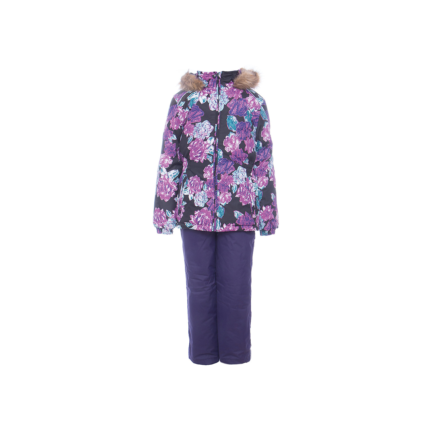 Комплект: куртка и брюки WONDER Huppa для девочкиВерхняя одежда<br>Комплект для девочек WONDER.Водо и воздухонепроницаемость  10 000.Утеплитель 300 гр куртка/160 гр брюки.Подкладка тафта, флис 100% полиэстер.Отстегивающийся капюшон с мехом.Манжеты рукавов на резинке.Регулируемые низы.Внутренняя снегозащита брюк.Швы проклеены.Резиновые подтяжки.Имеются светоотражательные элементы.<br>Состав:<br>100% Полиэстер<br><br>Ширина мм: 356<br>Глубина мм: 10<br>Высота мм: 245<br>Вес г: 519<br>Цвет: лиловый<br>Возраст от месяцев: 18<br>Возраст до месяцев: 24<br>Пол: Женский<br>Возраст: Детский<br>Размер: 92,140,134,128,122,116,110,104,98<br>SKU: 7027078