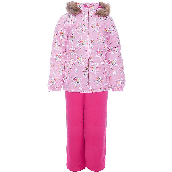 Комплект: куртка и брюки WONDER Huppa для девочкиКомплекты<br>Характеристики товара:<br><br>• цвет: розовый / фуксия;<br>• пол: девочка;<br>• состав: 100% полиэстер;<br>• утеплитель: 300 гр куртка / 160гр полукомбинезон;<br>• подкладка: тафта, флис;<br>• сезон: зима;<br>• температурный режим: от -5 до - 30С;<br>• водонепроницаемость: 10000 мм ;<br>• воздухопроницаемость: 10000 г/м2/24ч;<br>• особенности модели: c рисунком; с мехом на капюшоне;<br>• сидельный шов проклеен и не пропускает влагу;<br>• манжеты рукавов эластичные, на резинках;<br>• низ брюк затягивается на шнурок с фиксатором;<br>• внутренние снегозащитные манжеты на штанинах;<br>• полукомбинезон с высокой грудкой, внутренние швы отсутствуют;<br>• эластичные подтяжки регулируются по длине;<br>• безопасный капюшон крепится на кнопки и, при необходимости, отстегивается;<br>• мех на капюшоне не съемный;<br>• светоотражающие элементы для безопасности ребенка;<br>• страна бренда: Финляндия;<br>• страна изготовитель: Эстония.<br><br>Зимний комплект Хуппа – превосходный наряд для современной девочки на осенне-зимний период. <br><br>Комплект Wonder состоит из куртки и полукомбинезона. Обе составляющие комплекта снабжены вшитыми эластичными поясками-резинками, обеспечивающими безупречную посадку одежды по фигуре. Комплект отличается повышенной комфортностью. Внутри его обрамляет мягкая тафта. Внутренняя поверхность манжет и воротника отделана флисом. Капюшон оторочен пушистым искусственным мехом. В брючинах спрятана снегозащита. У полукомбинезона отсутствуют внутренние швы. Для лучшей герметизации полукомбинезона основные швы выполнены проклеенными.<br><br>Зимний комплект Wonder для девочки фирмы HUPPA  можно купить в нашем интернет-магазине.<br><br>Ширина мм: 356<br>Глубина мм: 10<br>Высота мм: 245<br>Вес г: 519<br>Цвет: розовый<br>Возраст от месяцев: 36<br>Возраст до месяцев: 48<br>Пол: Женский<br>Возраст: Детский<br>Размер: 104,98,92,140,134,128,122,116,110<br>SKU: 7027098