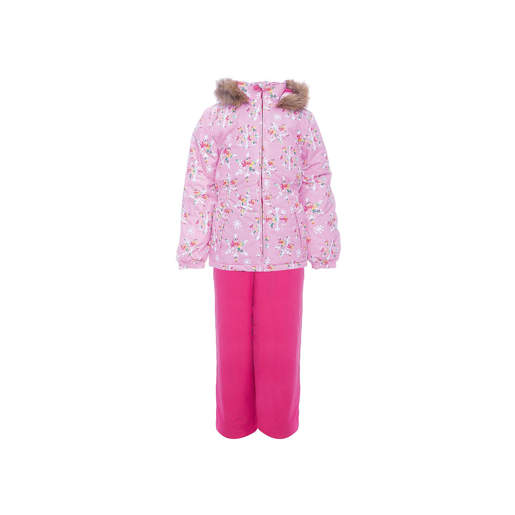 Комплект: куртка и брюки WONDER Huppa для девочкиВерхняя одежда<br>Комплект для девочек WONDER.Водо и воздухонепроницаемость  10 000.Утеплитель 300 гр куртка/160 гр брюки.Подкладка тафта, флис 100% полиэстер.Отстегивающийся капюшон с мехом.Манжеты рукавов на резинке.Регулируемые низы.Внутренняя снегозащита брюк.Швы проклеены.Резиновые подтяжки.Имеются светоотражательные элементы.<br>Состав:<br>100% Полиэстер<br><br>Ширина мм: 356<br>Глубина мм: 10<br>Высота мм: 245<br>Вес г: 519<br>Цвет: розовый<br>Возраст от месяцев: 108<br>Возраст до месяцев: 120<br>Пол: Женский<br>Возраст: Детский<br>Размер: 140,92,98,104,110,116,122,128,134<br>SKU: 7027098