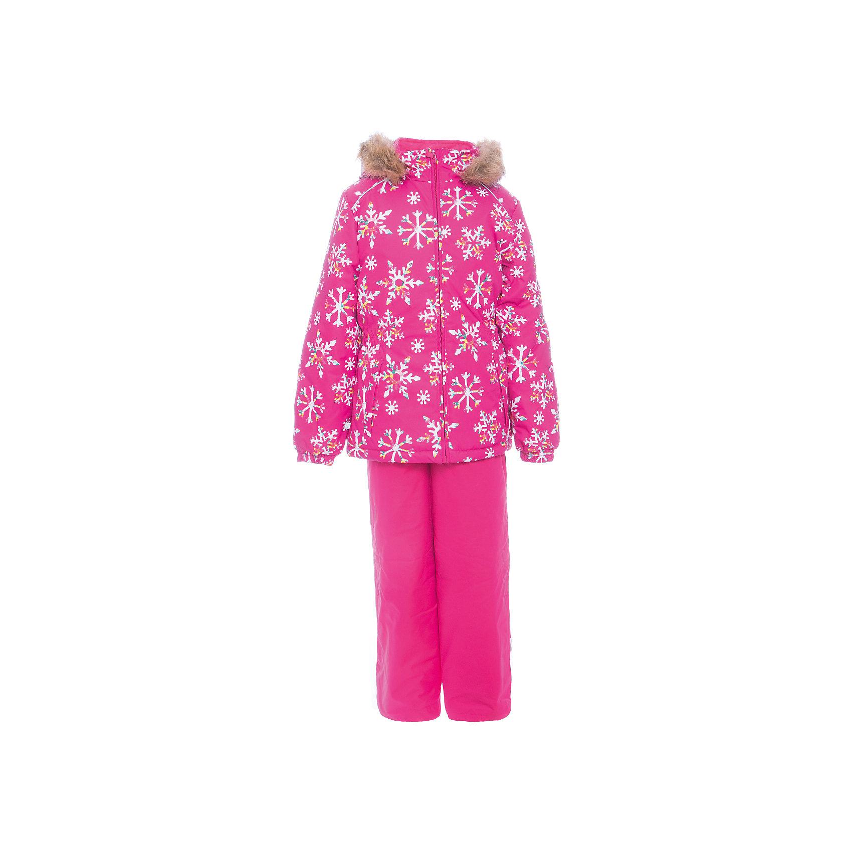 Комплект: куртка и брюки WONDER Huppa для девочкиКомплекты<br>Комплект для девочек WONDER.Водо и воздухонепроницаемость  10 000.Утеплитель 300 гр куртка/160 гр брюки.Подкладка тафта, флис 100% полиэстер.Отстегивающийся капюшон с мехом.Манжеты рукавов на резинке.Регулируемые низы.Внутренняя снегозащита брюк.Швы проклеены.Резиновые подтяжки.Имеются светоотражательные элементы.<br>Состав:<br>100% Полиэстер<br><br>Ширина мм: 356<br>Глубина мм: 10<br>Высота мм: 245<br>Вес г: 519<br>Цвет: фуксия<br>Возраст от месяцев: 108<br>Возраст до месяцев: 120<br>Пол: Женский<br>Возраст: Детский<br>Размер: 140,92,98,104,110,116,122,128,134<br>SKU: 7027118