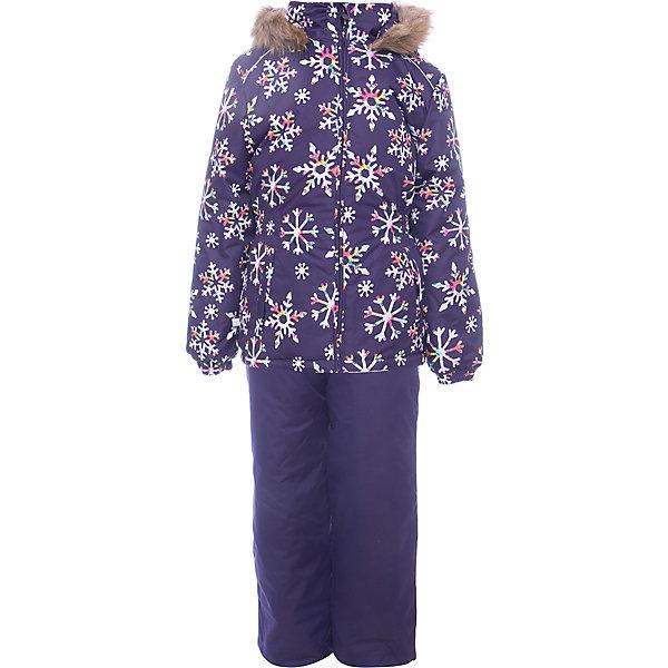 Комплект: куртка и брюки WONDER Huppa для девочкиВерхняя одежда<br>Характеристики товара:<br><br>• цвет: фиолетовый;<br>• пол: девочка;<br>• состав: 100% полиэстер;<br>• утеплитель: 300 гр куртка / 160гр полукомбинезон;<br>• подкладка: тафта, флис;<br>• сезон: зима;<br>• температурный режим: от -5 до - 30С;<br>• водонепроницаемость: 10000 мм ;<br>• воздухопроницаемость: 10000 г/м2/24ч;<br>• особенности модели: c рисунком; с мехом на капюшоне;<br>• сидельный шов проклеен и не пропускает влагу;<br>• манжеты рукавов эластичные, на резинках;<br>• низ брюк затягивается на шнурок с фиксатором;<br>• внутренние снегозащитные манжеты на штанинах;<br>• полукомбинезон с высокой грудкой, внутренние швы отсутствуют;<br>• эластичные подтяжки регулируются по длине;<br>• безопасный капюшон крепится на кнопки и, при необходимости, отстегивается;<br>• мех на капюшоне не съемный;<br>• светоотражающие элементы для безопасности ребенка;<br>• страна бренда: Финляндия;<br>• страна изготовитель: Эстония.<br><br>Зимний комплект Хуппа – превосходный наряд для современной девочки на осенне-зимний период. <br><br>Комплект Wonder состоит из куртки и полукомбинезона. Обе составляющие комплекта снабжены вшитыми эластичными поясками-резинками, обеспечивающими безупречную посадку одежды по фигуре. Комплект отличается повышенной комфортностью. Внутри его обрамляет мягкая тафта. Внутренняя поверхность манжет и воротника отделана флисом. Капюшон оторочен пушистым искусственным мехом. В брючинах спрятана снегозащита. У полукомбинезона отсутствуют внутренние швы. Для лучшей герметизации полукомбинезона основные швы выполнены проклеенными.<br><br>Зимний комплект Wonder для девочки фирмы HUPPA  можно купить в нашем интернет-магазине.<br><br>Ширина мм: 356<br>Глубина мм: 10<br>Высота мм: 245<br>Вес г: 519<br>Цвет: лиловый<br>Возраст от месяцев: 24<br>Возраст до месяцев: 36<br>Пол: Женский<br>Возраст: Детский<br>Размер: 98,104,116,122,128,134,140,110,92<br>SKU: 7027128