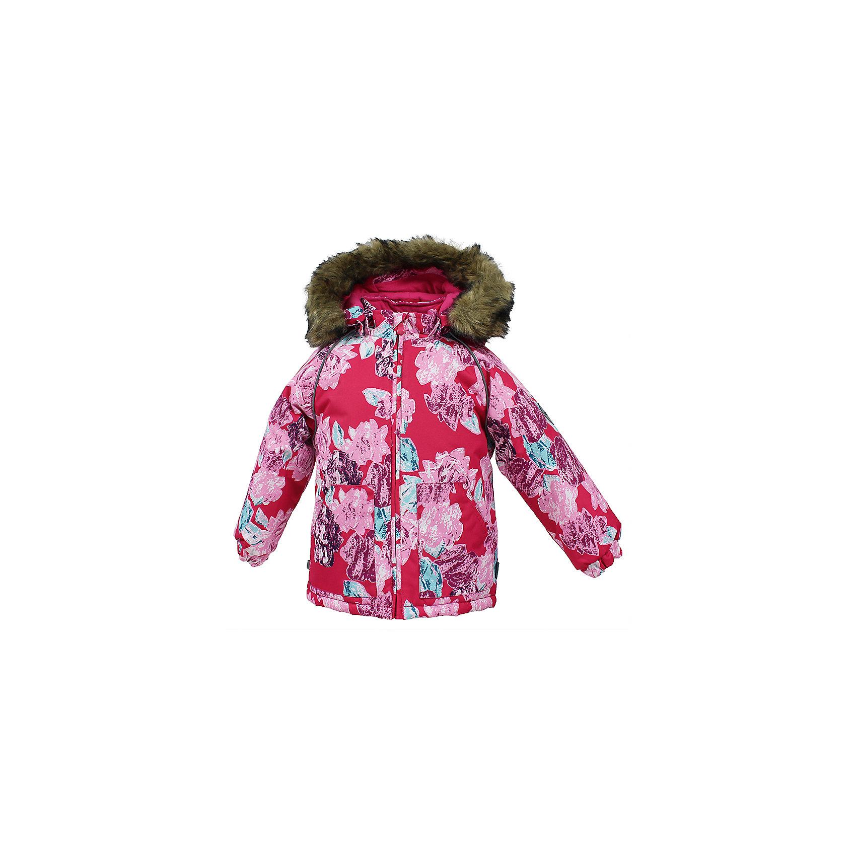 Куртка VIRGO HuppaВерхняя одежда<br>Куртка для малышей VIRGO.Водо и воздухонепроницаемость 10 000. Утеплитель 300 гр. Подкладка фланель 100% хлопок. Отстегивающийся капюшон с мехом. Манжеты рукавов на резинке. Имеются светоотражательные детали.<br>Состав:<br>100% Полиэстер<br><br>Ширина мм: 356<br>Глубина мм: 10<br>Высота мм: 245<br>Вес г: 519<br>Цвет: фуксия<br>Возраст от месяцев: 12<br>Возраст до месяцев: 15<br>Пол: Унисекс<br>Возраст: Детский<br>Размер: 80,104,98,92,86<br>SKU: 7027216
