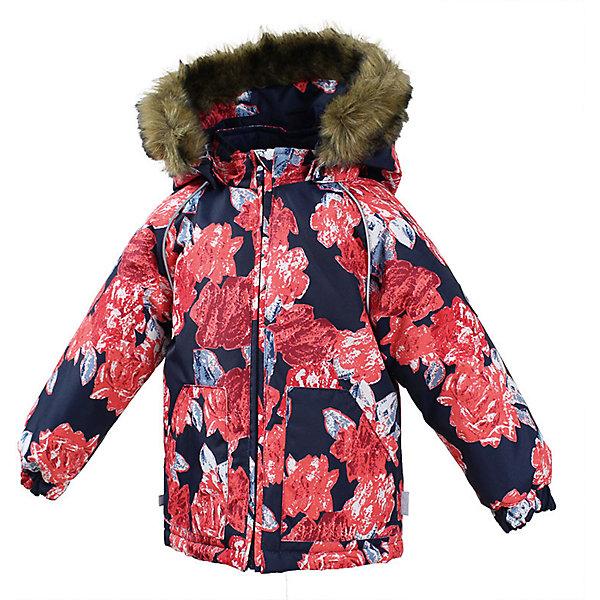 Куртка VIRGO Huppa для девочкиЗимние куртки<br>Характеристики товара:<br><br>• цвет: синий;<br>• пол: девочка;<br>• состав: 100% полиэстер;<br>• утеплитель: полиэстер 300 гр.;<br>• подкладка: фланель 100% хлопок;<br>• сезон: зима;<br>• температурный режим: от -5 до - 30С;<br>• водонепроницаемость: 10000 мм ;<br>• воздухопроницаемость:10000 г/м2/24ч;<br>• особенности модели: c рисунком; с мехом на капюшоне;<br>• манжеты рукавов эластичные, на резинках;<br>• безопасный капюшон крепится на кнопки и, при необходимости, отстегивается;<br>• мех на капюшоне не съемный;<br>• светоотражающие элементы для безопасности ребенка;<br>• страна бренда: Финляндия;<br>• страна изготовитель: Эстония.<br><br>Зимняя куртка с капюшоном для девочки. Все швы проклеены и водонепроницаемы, а сама она изготовлена из водо и ветронепроницаемого, грязеотталкивающего материала.<br><br>Съемный капюшон защищает от ветра, к тому же он абсолютно безопасен – легко отстегнется, если вдруг за что-нибудь зацепится. Обратите внимание: куртку можно сушить в сушильной машине. Зимняя куртка на молнии для девочки декорирована рисунком.<br><br>Зимнюю куртку Virgo для девочки фирмы HUPPA  можно купить в нашем интернет-магазине.<br>Ширина мм: 356; Глубина мм: 10; Высота мм: 245; Вес г: 519; Цвет: синий; Возраст от месяцев: 24; Возраст до месяцев: 36; Пол: Женский; Возраст: Детский; Размер: 98,104,92,86,80; SKU: 7027228;