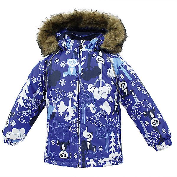 Куртка VIRGO Huppa для мальчикаЗимние куртки<br>Характеристики товара:<br><br>• цвет: синий;<br>• пол: мальчик;<br>• состав: 100% полиэстер;<br>• утеплитель: полиэстер 300 гр .;<br>• подкладка: фланель 100% хлопок;<br>• сезон: зима;<br>• температурный режим: от -5 до - 30С;<br>• водонепроницаемость: 5000 мм ;<br>• воздухопроницаемость: 5000 г/м2/24ч;<br>• особенности модели: c рисунком; с мехом на капюшоне;<br>• манжеты рукавов эластичные, на резинках;<br>• безопасный капюшон крепится на кнопки и, при необходимости, отстегивается;<br>• мех на капюшоне не съемный;<br>• светоотражающие элементы для безопасности ребенка;<br>• страна бренда: Финляндия;<br>• страна изготовитель: Эстония.<br><br>Зимняя куртка с капюшоном для мальчика. Все швы проклеены и водонепроницаемы, а сама она изготовлена из водо и ветронепроницаемого, грязеотталкивающего материала.<br><br>Съемный капюшон защищает от ветра, к тому же он абсолютно безопасен – легко отстегнется, если вдруг за что-нибудь зацепится. Обратите внимание: куртку можно сушить в сушильной машине. Зимняя куртка на молнии для мальчика декорирована рисунком.<br><br>Зимнюю куртку Virgo для мальчика фирмы HUPPA  можно купить в нашем интернет-магазине.<br><br>Ширина мм: 356<br>Глубина мм: 10<br>Высота мм: 245<br>Вес г: 519<br>Цвет: синий<br>Возраст от месяцев: 12<br>Возраст до месяцев: 15<br>Пол: Мужской<br>Возраст: Детский<br>Размер: 80,104,98,92,86<br>SKU: 7027276