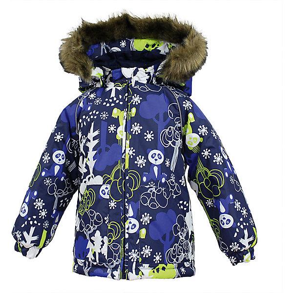 Куртка VIRGO Huppa для мальчикаВерхняя одежда<br>Характеристики товара:<br><br>• цвет: синий;<br>• пол: мальчик;<br>• состав: 100% полиэстер;<br>• утеплитель: полиэстер 300 гр .;<br>• подкладка: фланель 100% хлопок;<br>• сезон: зима;<br>• температурный режим: от -5 до - 30С;<br>• водонепроницаемость: 5000 мм ;<br>• воздухопроницаемость: 5000 г/м2/24ч;<br>• особенности модели: c рисунком; с мехом на капюшоне;<br>• манжеты рукавов эластичные, на резинках;<br>• безопасный капюшон крепится на кнопки и, при необходимости, отстегивается;<br>• мех на капюшоне не съемный;<br>• светоотражающие элементы для безопасности ребенка;<br>• страна бренда: Финляндия;<br>• страна изготовитель: Эстония.<br><br>Зимняя куртка с капюшоном для мальчика. Все швы проклеены и водонепроницаемы, а сама она изготовлена из водо и ветронепроницаемого, грязеотталкивающего материала.<br><br>Съемный капюшон защищает от ветра, к тому же он абсолютно безопасен – легко отстегнется, если вдруг за что-нибудь зацепится. Обратите внимание: куртку можно сушить в сушильной машине. Зимняя куртка на молнии для мальчика декорирована рисунком.<br><br>Зимнюю куртку Virgo для мальчика фирмы HUPPA  можно купить в нашем интернет-магазине.<br>Ширина мм: 356; Глубина мм: 10; Высота мм: 245; Вес г: 519; Цвет: синий; Возраст от месяцев: 36; Возраст до месяцев: 48; Пол: Мужской; Возраст: Детский; Размер: 104,80,86,92,98; SKU: 7027300;