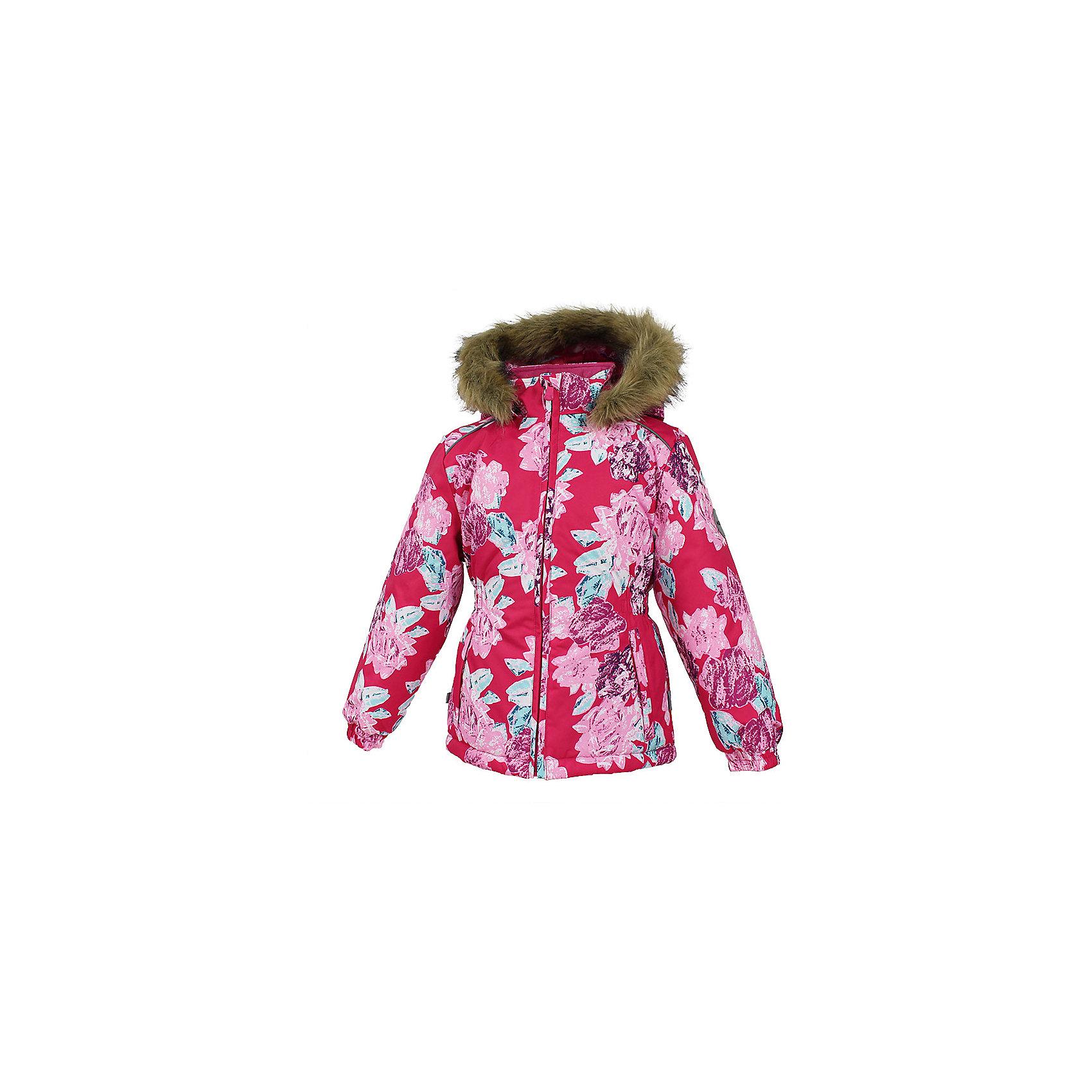 Куртка MARII Huppa для девочкиВерхняя одежда<br>Куртка для девочек MARII.Водо и воздухонепроницаемость 10 000. Утеплитель 300 гр. Подкладка тафта, флис 100% полиэстер. Отстегивающийся капюшон с мехом. Манжеты рукавов на резинке. Имеются светоотражательные детали.<br>Состав:<br>100% Полиэстер<br><br>Ширина мм: 356<br>Глубина мм: 10<br>Высота мм: 245<br>Вес г: 519<br>Цвет: фуксия<br>Возраст от месяцев: 108<br>Возраст до месяцев: 120<br>Пол: Женский<br>Возраст: Детский<br>Размер: 140,110,116,122,128,134<br>SKU: 7027323