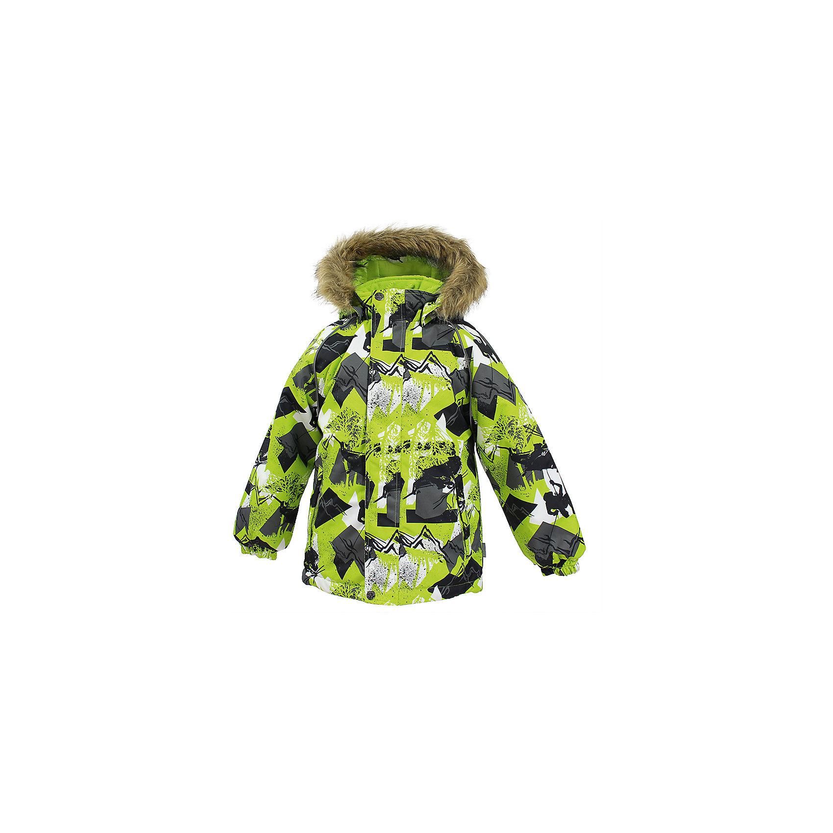 Куртка MARINEL HuppaЗимние куртки<br>Куртка для детей MARINEL.Водо и воздухонепроницаемость 10 000. Утеплитель 300 гр. Подкладка тафта, флис 100% полиэстер. Отстегивающийся капюшон с мехом. Манжеты рукавов на резинке. Имеются светоотражательные детали.<br>Состав:<br>100% Полиэстер<br><br>Ширина мм: 356<br>Глубина мм: 10<br>Высота мм: 245<br>Вес г: 519<br>Цвет: зеленый<br>Возраст от месяцев: 108<br>Возраст до месяцев: 120<br>Пол: Унисекс<br>Возраст: Детский<br>Размер: 140,110,116,122,128,134<br>SKU: 7027372