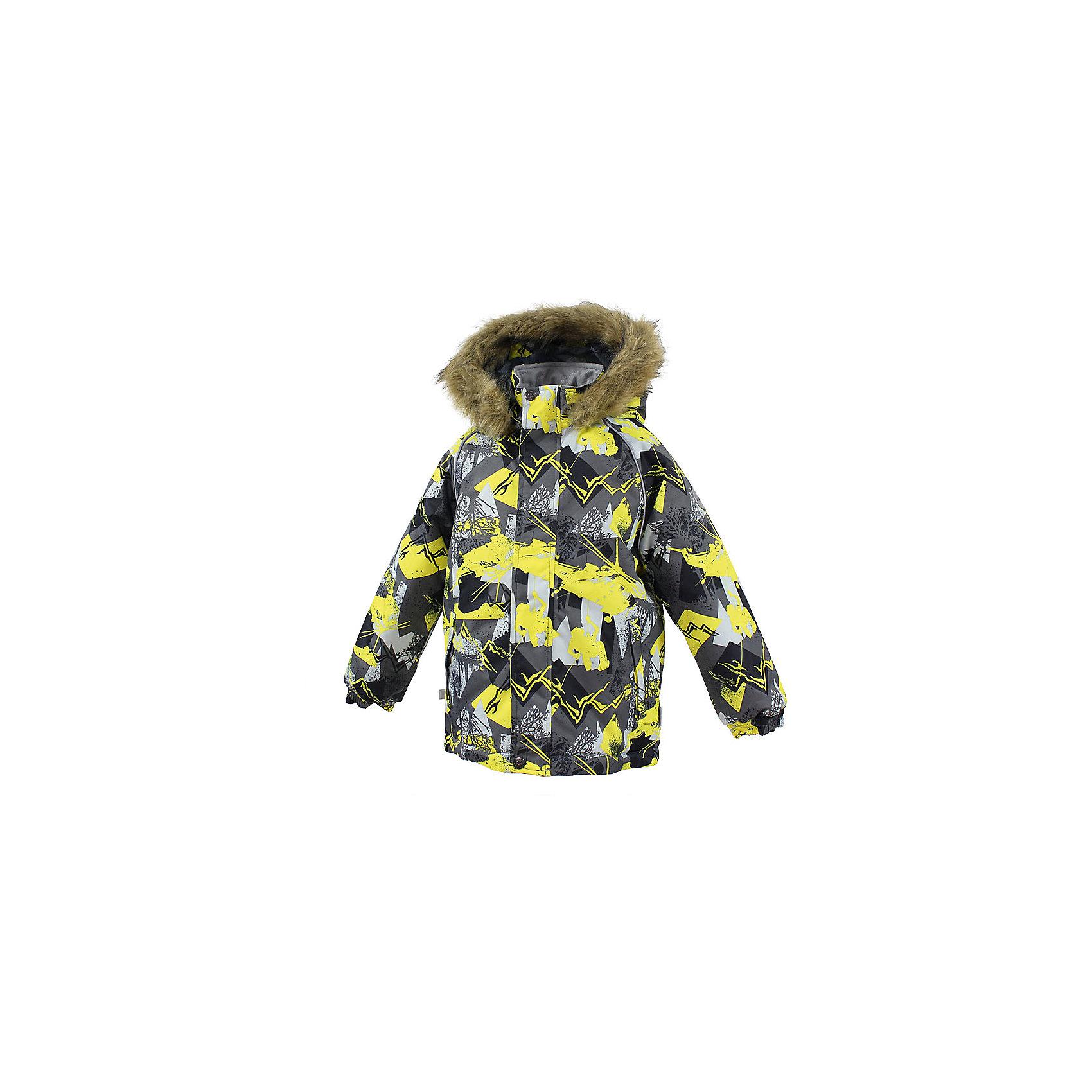 Куртка MARINEL HuppaВерхняя одежда<br>Куртка для детей MARINEL.Водо и воздухонепроницаемость 10 000. Утеплитель 300 гр. Подкладка тафта, флис 100% полиэстер. Отстегивающийся капюшон с мехом. Манжеты рукавов на резинке. Имеются светоотражательные детали.<br>Состав:<br>100% Полиэстер<br><br>Ширина мм: 356<br>Глубина мм: 10<br>Высота мм: 245<br>Вес г: 519<br>Цвет: серый<br>Возраст от месяцев: 48<br>Возраст до месяцев: 60<br>Пол: Унисекс<br>Возраст: Детский<br>Размер: 110,140,134,128,122,116<br>SKU: 7027379