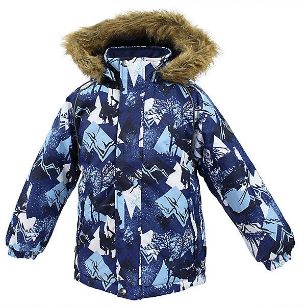 Куртка MARINEL Huppa для мальчикаЗимние куртки<br>Характеристики товара:<br><br>• цвет: синий;<br>• пол: мальчик;<br>• состав: 100% полиэстер;<br>• утеплитель: полиэстер 300 гр.;<br>• подкладка: тафта, флис;<br>• сезон: зима;<br>• температурный режим: от -5 до - 30С;<br>• водонепроницаемость: 10000 мм ;<br>• воздухопроницаемость: 10000 г/м2/24ч;<br>• особенности модели: c рисунком; с мехом на капюшоне;<br>• манжеты рукавов эластичные, на резинках;<br>• безопасный капюшон крепится на кнопки и, при необходимости, отстегивается;<br>• мех на капюшоне не съемный;<br>• молния с защитным клапаном;<br>• светоотражающие элементы для безопасности ребенка;<br>• страна бренда: Финляндия;<br>• страна изготовитель: Эстония.<br><br>Высококачественная мембрана не пропускает снег и влагу и отлично «дышит», что особенно важно, когда ребенок активно двигается. А современный синтетический утеплитель греет даже на сильном морозе и при этом не теряет своих свойств после многочисленных стирок.<br><br>Куртка прямого кроя с удлиненной спинкой и карманами на липучках. Утяжка по низу и планка на молнии исключает поддувание и попадание снега под куртку. Теплый капюшон с меховой опушкой легко отстегивается. Это предотвращает опасные ситуации во время игры, например, если капюшон ребенка за что-то зацепится. Светоотражающие элементы повышают безопасность ребенка при нахождении на улице при любой видимости и в темное время суток. <br><br>Функциональные элементы: капюшон отстегивается с помощью кнопок, мех не отстегивается, защитная планка молнии на липучке, защита подбородка от защемления, карманы без застежек, манжеты на резинке, утяжка по подолу, светоотражающие элементы. <br><br>Куртку  Marinel для мальчика фирмы HUPPA  можно купить в нашем интернет-магазине.<br>Ширина мм: 356; Глубина мм: 10; Высота мм: 245; Вес г: 519; Цвет: синий; Возраст от месяцев: 72; Возраст до месяцев: 84; Пол: Мужской; Возраст: Детский; Размер: 122,116,110,140,134,128; SKU: 7027386;