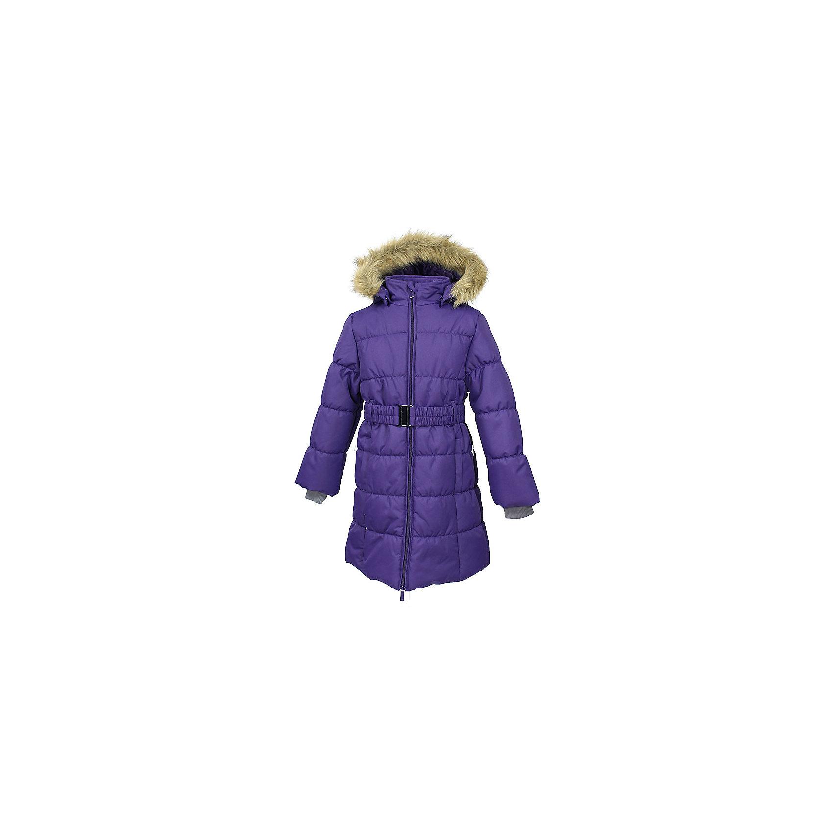 Пальто YACARANDA Huppa для девочкиВерхняя одежда<br>Куртка для девочек YACARANDA.Водо и воздухонепроницаемость 10 000. Утеплитель 300 гр. Подкладка тафта, флис 100% полиэстер. Отстегивающийся капюшон с мехом. Внутренний манжет рукава.Вязаные детали.Двухсторонняя молния. Имеются светоотражательные детали.<br>Состав:<br>100% Полиэстер<br><br>Ширина мм: 356<br>Глубина мм: 10<br>Высота мм: 245<br>Вес г: 519<br>Цвет: лиловый<br>Возраст от месяцев: 48<br>Возраст до месяцев: 60<br>Пол: Женский<br>Возраст: Детский<br>Размер: 158,164,170,104,110,116,122,128,134,140,146,152<br>SKU: 7027414