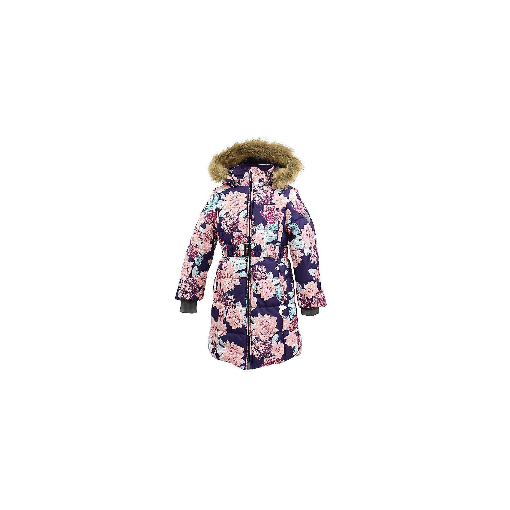 Пальто YACARANDA Huppa для девочкиВерхняя одежда<br>Куртка для девочек YACARANDA.Водо и воздухонепроницаемость 10 000. Утеплитель 300 гр. Подкладка тафта, флис 100% полиэстер. Отстегивающийся капюшон с мехом. Внутренний манжет рукава.Вязаные детали.Двухсторонняя молния. Имеются светоотражательные детали.<br>Состав:<br>100% Полиэстер<br><br>Ширина мм: 356<br>Глубина мм: 10<br>Высота мм: 245<br>Вес г: 519<br>Цвет: фиолетовый<br>Возраст от месяцев: 84<br>Возраст до месяцев: 96<br>Пол: Женский<br>Возраст: Детский<br>Размер: 128,170,104,110,116,122,134,140,146,152,158,164<br>SKU: 7027479