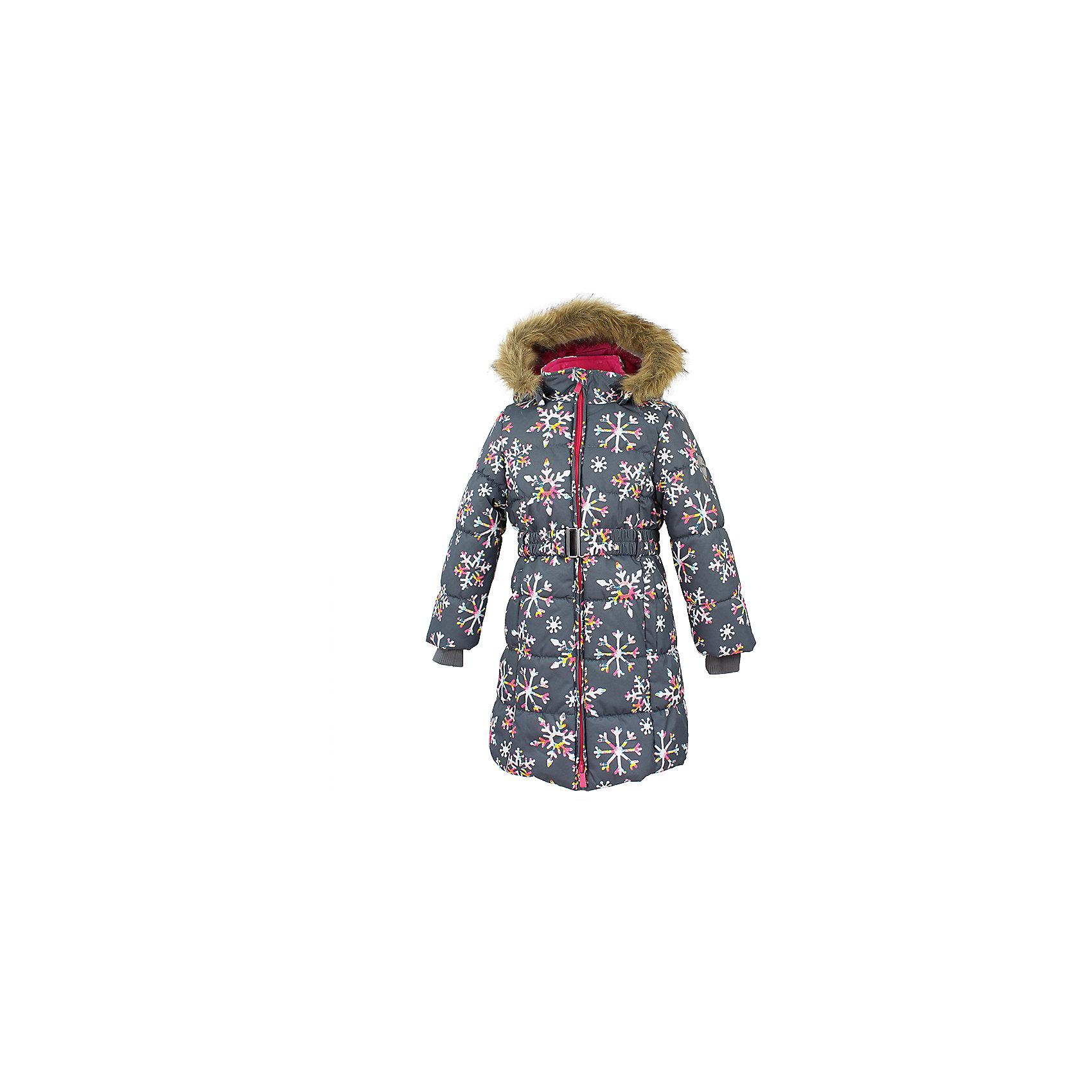 Пальто YACARANDA Huppa для девочкиВерхняя одежда<br>Куртка для девочек YACARANDA.Водо и воздухонепроницаемость 10 000. Утеплитель 300 гр. Подкладка тафта, флис 100% полиэстер. Отстегивающийся капюшон с мехом. Внутренний манжет рукава.Вязаные детали.Двухсторонняя молния. Имеются светоотражательные детали.<br>Состав:<br>100% Полиэстер<br><br>Ширина мм: 356<br>Глубина мм: 10<br>Высота мм: 245<br>Вес г: 519<br>Цвет: серый<br>Возраст от месяцев: 36<br>Возраст до месяцев: 48<br>Пол: Женский<br>Возраст: Детский<br>Размер: 104,170,110,116,122,128,134,140,146,152,158,164<br>SKU: 7027518