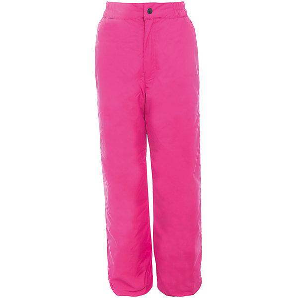 Брюки FREJA 1 Huppa для девочкиВерхняя одежда<br>Характеристики товара:<br><br>• цвет: фуксия;<br>• пол: девочка;<br>• состав: 100% полиэстер;<br>• утеплитель: нового поколенияHuppaTherm, 160 гр.;<br>• подкладка: тафта;<br>• сезон: зима;<br>• температурный режим: от - 5 до - 30С;<br>• водонепроницаемость: 10000 мм;<br>• воздухопроницаемость: 10000 г/м2/24ч;<br>• влагоустойчивая и дышащая ткань; <br>• пояс на резинке;<br>• сидельный шов проклеен и не пропускает влагу;<br>• внутренние снегозащитные манжеты на штанинах;<br>• светоотражающие элементы для безопасности ребенка;<br>• страна бренда: Финляндия;<br>• страна изготовитель: Эстония.<br><br>Зимние брюки Freja 1 фирмы HUPPA - это отличный вариант для холодной зимы.<br><br>Утепленные детские брюки Huppa Freja 1 прямого кроя выполнены из износостойкого полиэстера. Брюки застегиваются на молнию и кнопку, на талии имеется вшитая эластичная резинка. Изделие дополнено светоотражающими элементами.<br><br>Функциональные элементы: пояс на резинке, подол штанин с утяжкой с фиксатором, снежные гетры. <br><br>Зимние брюки  Freja 1 для девочки фирмы HUPPA  можно купить в нашем интернет-магазине.<br>Ширина мм: 215; Глубина мм: 88; Высота мм: 191; Вес г: 336; Цвет: фуксия; Возраст от месяцев: 168; Возраст до месяцев: 180; Пол: Женский; Возраст: Детский; Размер: 122,128,134,140,146,152,158,164,170; SKU: 7027669;