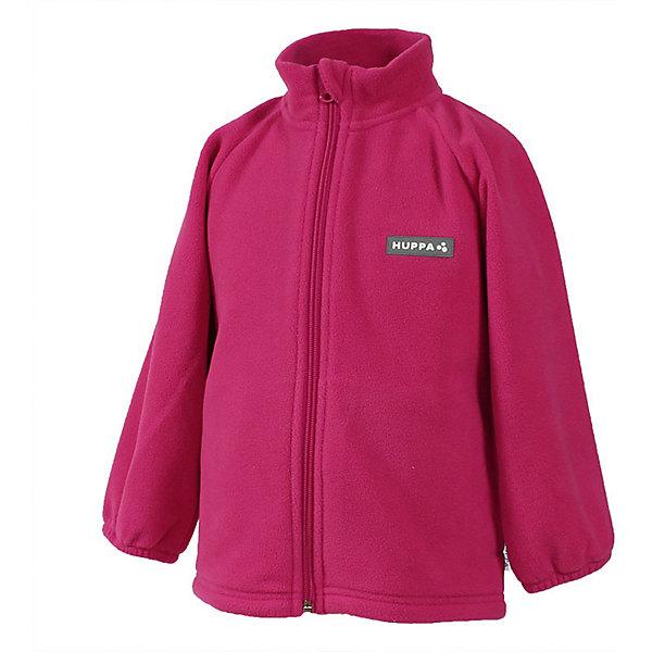 Флисовая кофта Huppa Berrie для девочкиФлис и термобелье<br>Характеристики товара:<br><br>• модель: Berrie;<br>• цвет: розовый;<br>• состав: 100% полиэстер;<br>• сезон: зима;<br>• температурный режим: от +10 до - 30С;<br>• застежка: молния по всей длине с защитой подбородка;<br>• манжеты рукавов на мягкой эластичной резинке;<br>• светоотражающая нашивка;<br>• страна бренда: Финляндия;<br>• страна изготовитель: Эстония.<br><br>Флисовая кофта на молнии. Кофта очень мягкая и приятная на ощупь. Можно носить как верхнюю кофту в прохладные деньки и использовать как дополнительный утепленный слой под верхней одеждой зимой. Кофта без капюшона с мягкими эластичными манжетами на резинке.<br><br>Флисовую кофту Huppa Berrie (Хуппа) можно купить в нашем интернет-магазине.<br><br>Ширина мм: 190<br>Глубина мм: 74<br>Высота мм: 229<br>Вес г: 236<br>Цвет: фуксия<br>Возраст от месяцев: 12<br>Возраст до месяцев: 15<br>Пол: Женский<br>Возраст: Детский<br>Размер: 80,122<br>SKU: 7027719