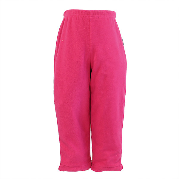 Купить Флисовые брюки Huppa Billy для девочки, Эстония, фуксия, 86, 80, 122, 92, Женский